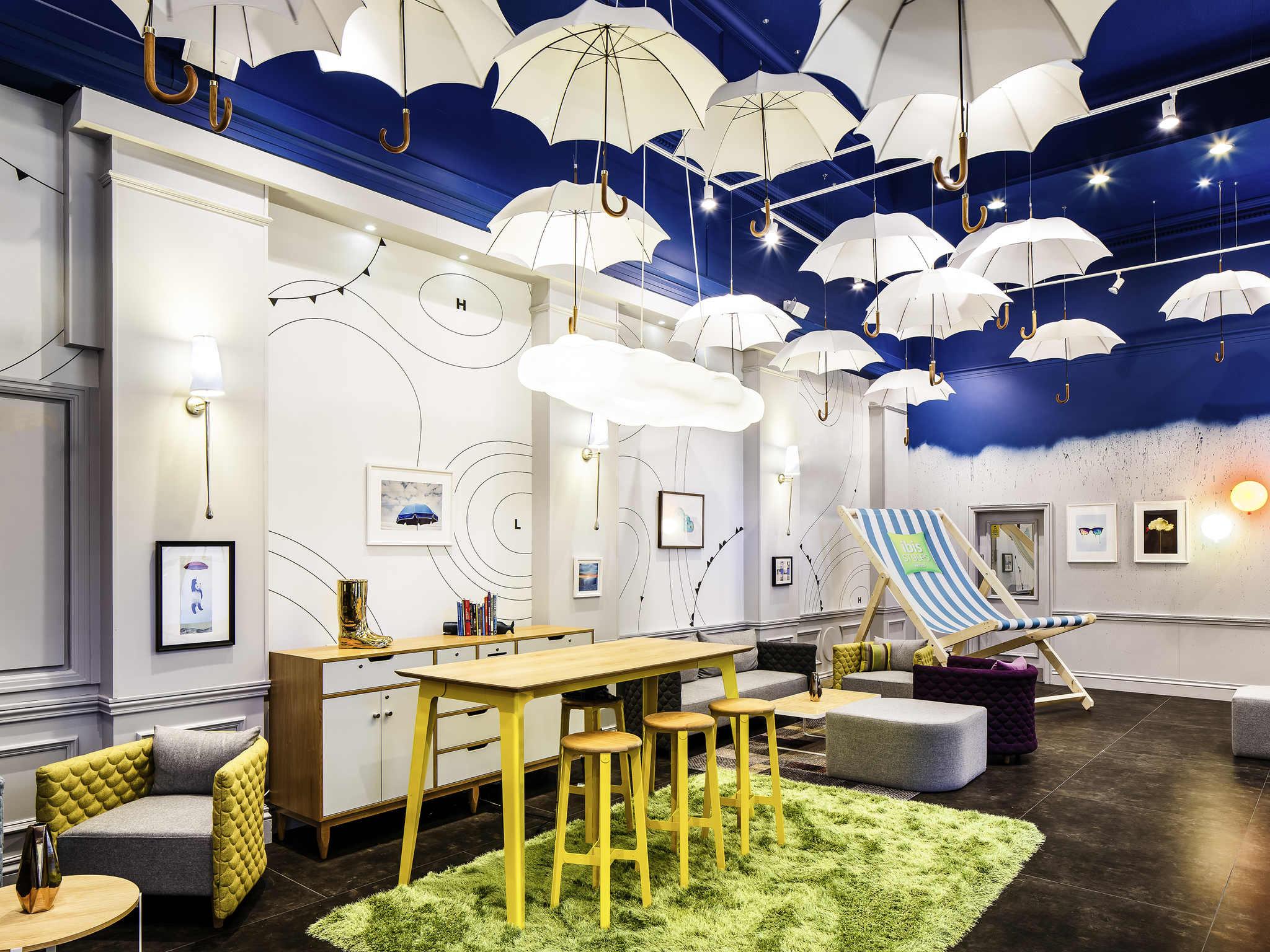 Hotel – Hotel ibis Styles Manchester Portland (recentemente remodelado)
