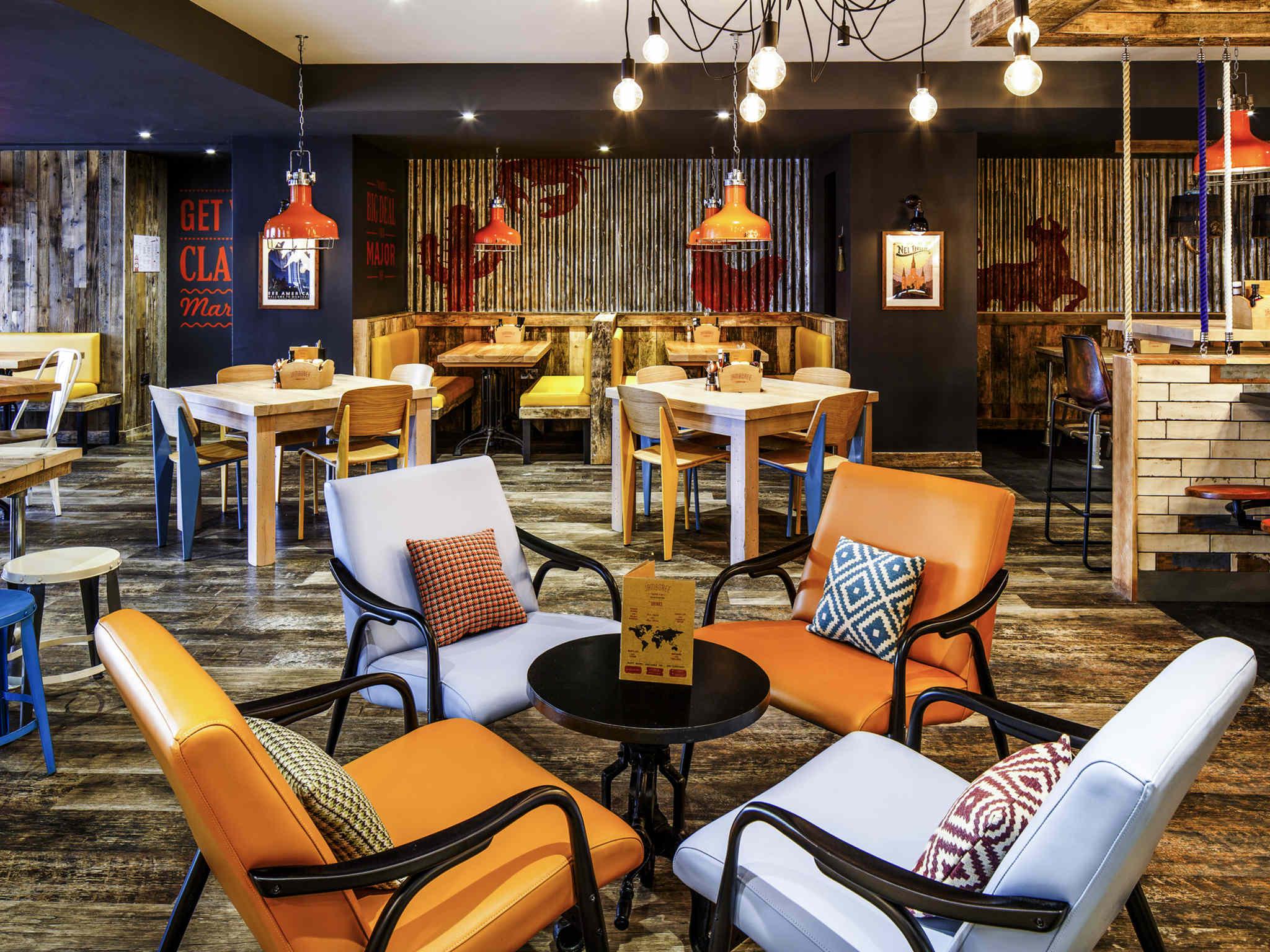 Restaurant Ibis Styles Manchester Portland Hotel Newly Refurbished