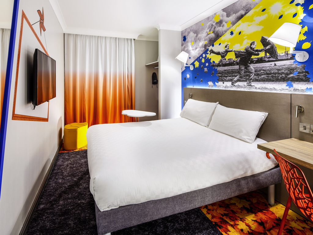 Cheap Hotel MANCHESTER   Ibis Styles Manchester Portland Hotel(Newly  Refurbished)
