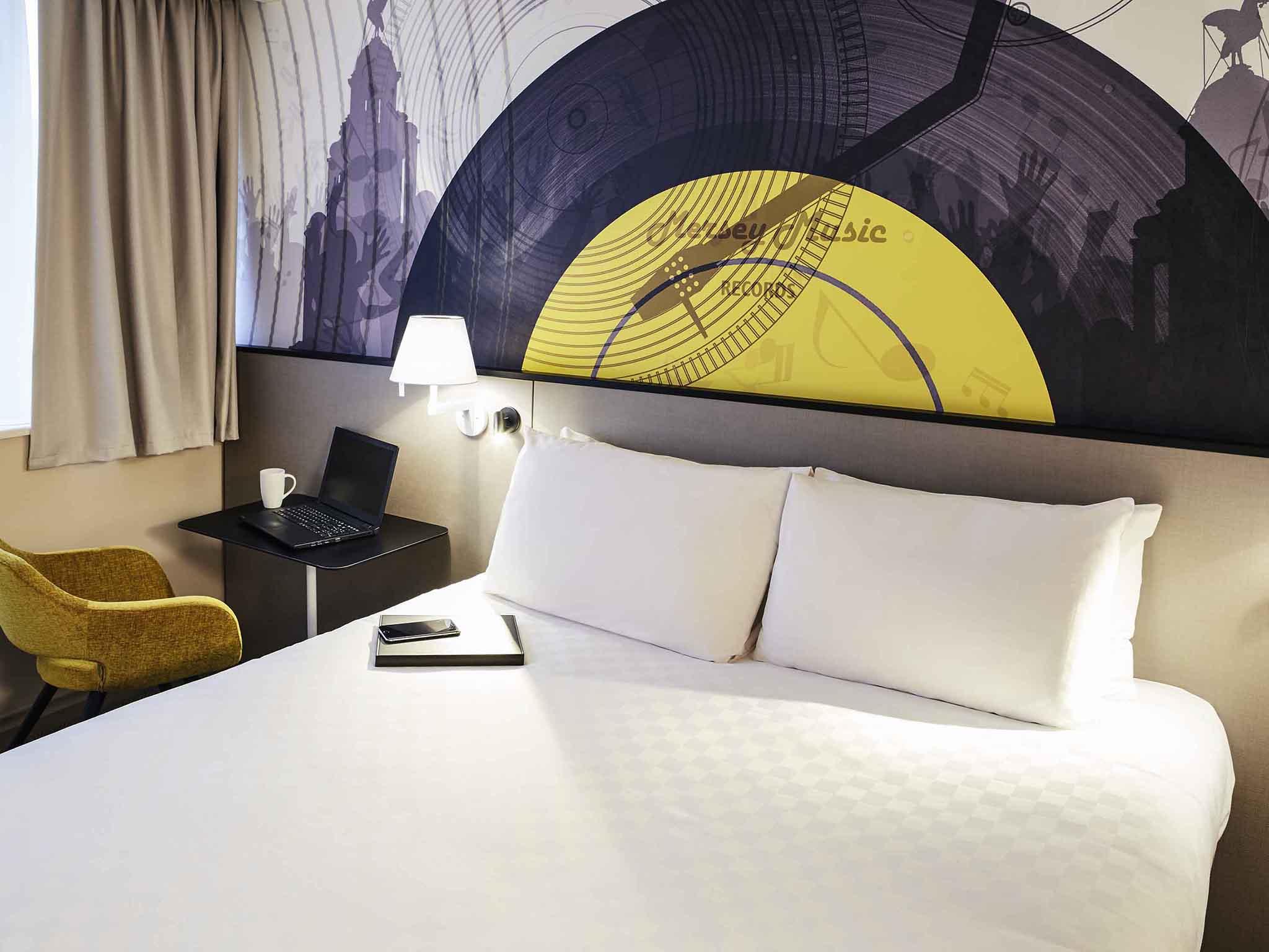 โรงแรม – Mercure Liverpool Atlantic Tower Hotel