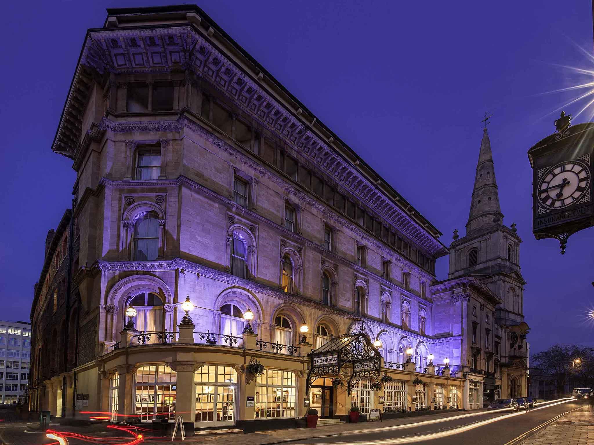 Hotel – Mercure Bristol Grand Hotel (niedawno odnowiony)