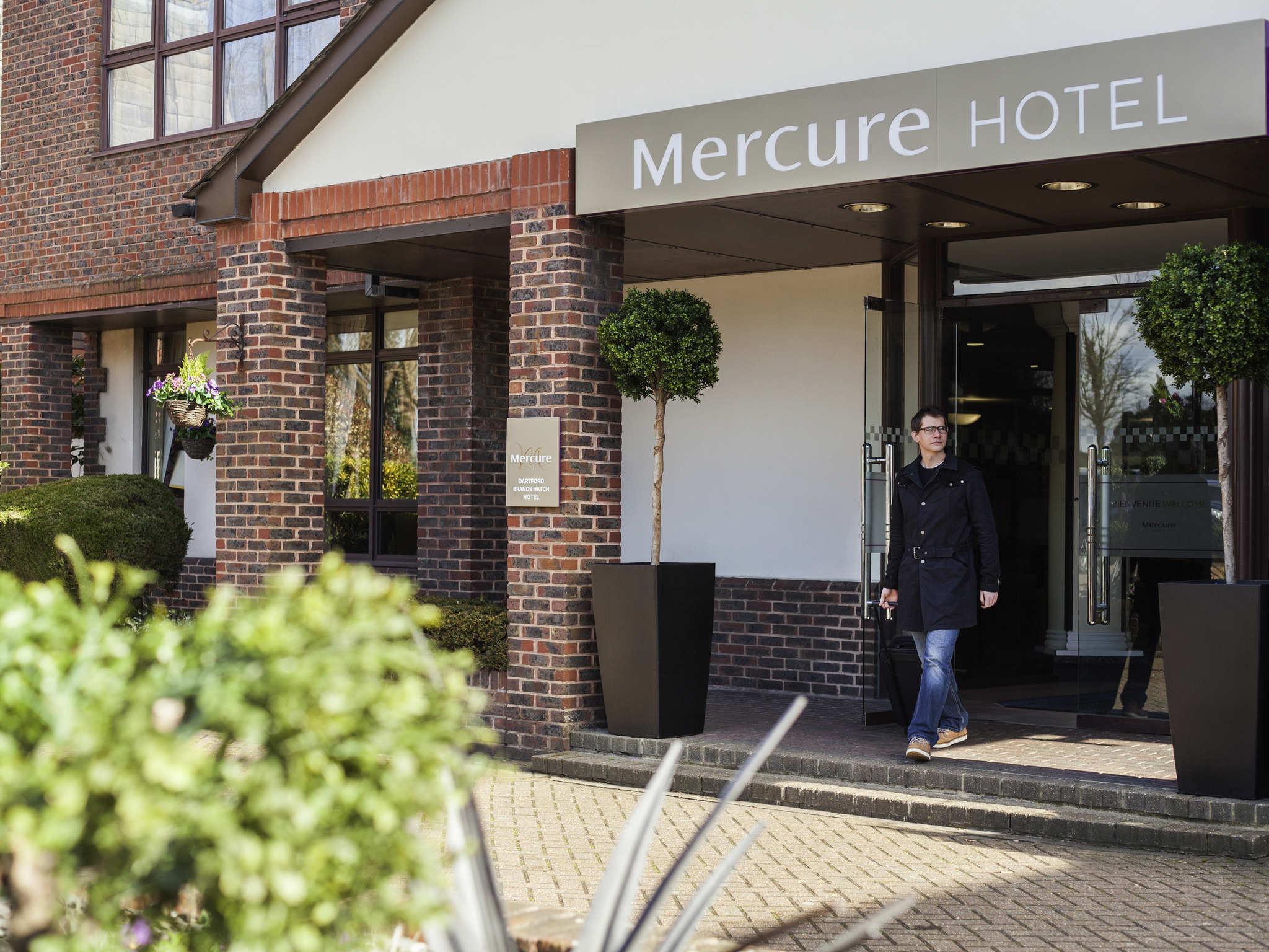 Отель — Mercure Dartford Brands Hatch Hotel & Spa