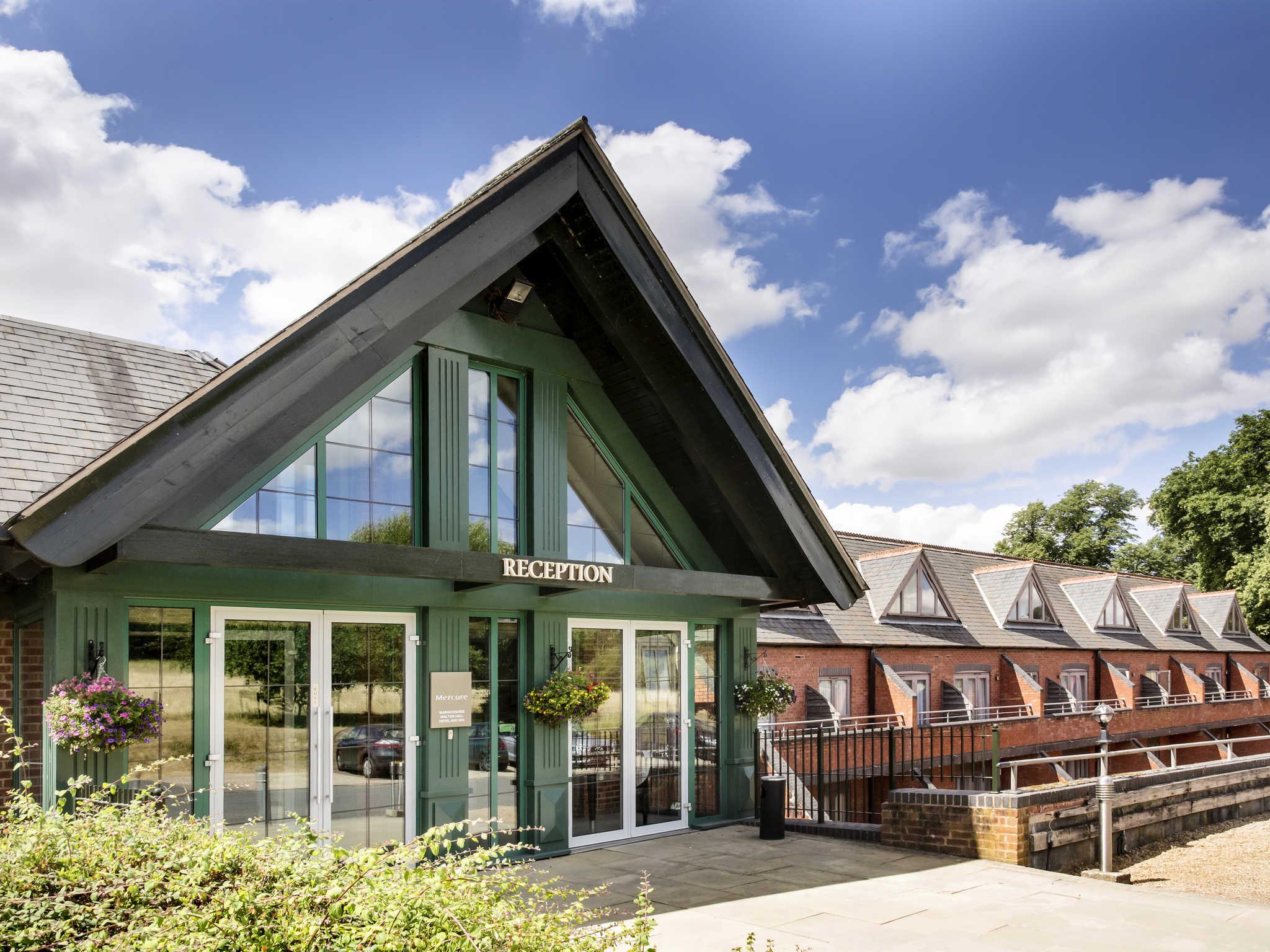 โรงแรม – Mercure Warwickshire Walton Hall Hotel & Spa
