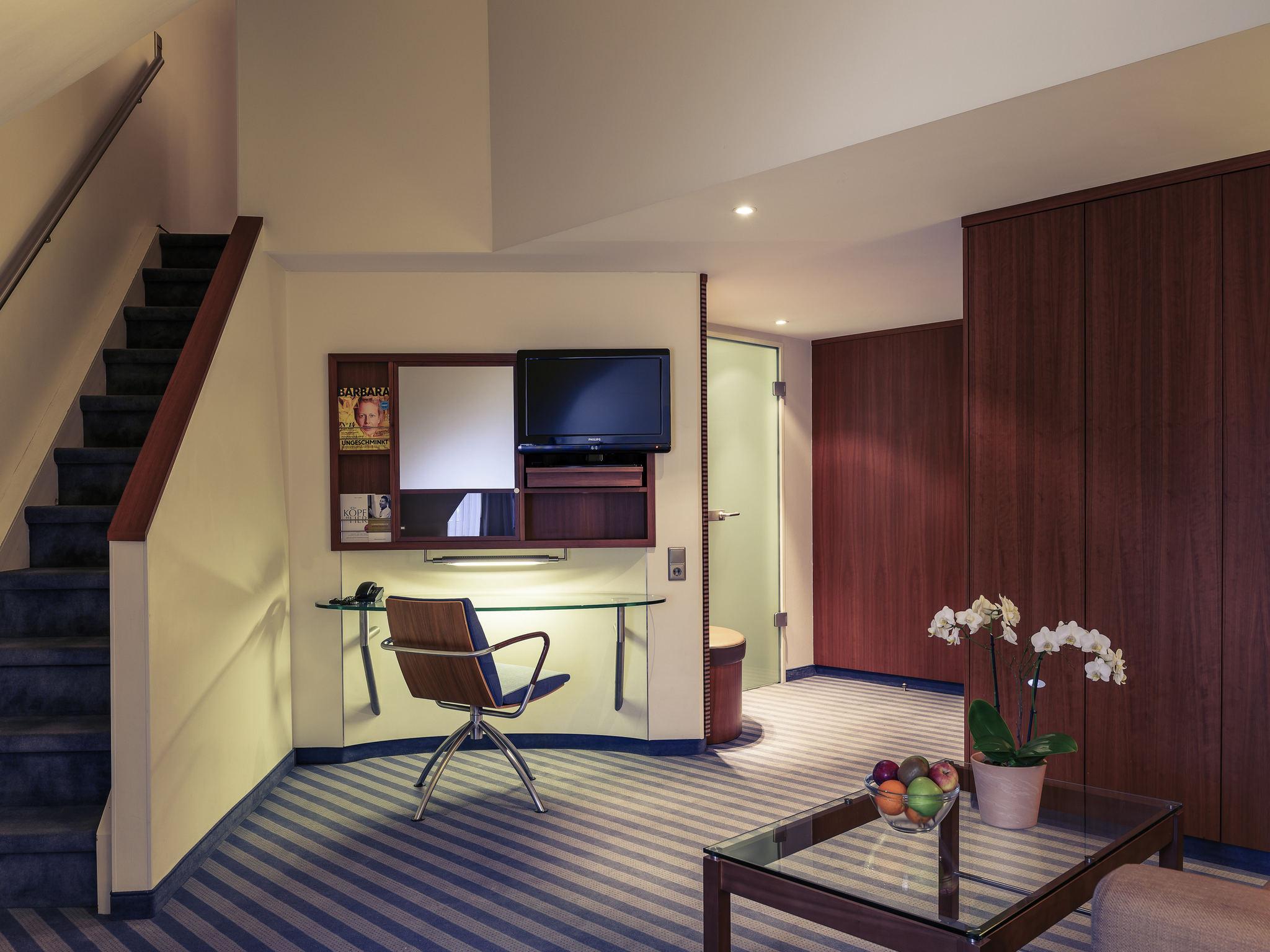 Landen und einchecken: im Mercure Hotel in Freising