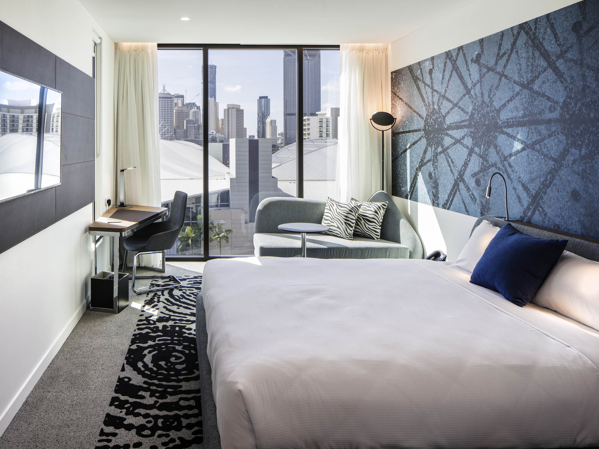 호텔 – Novotel Brisbane South Bank