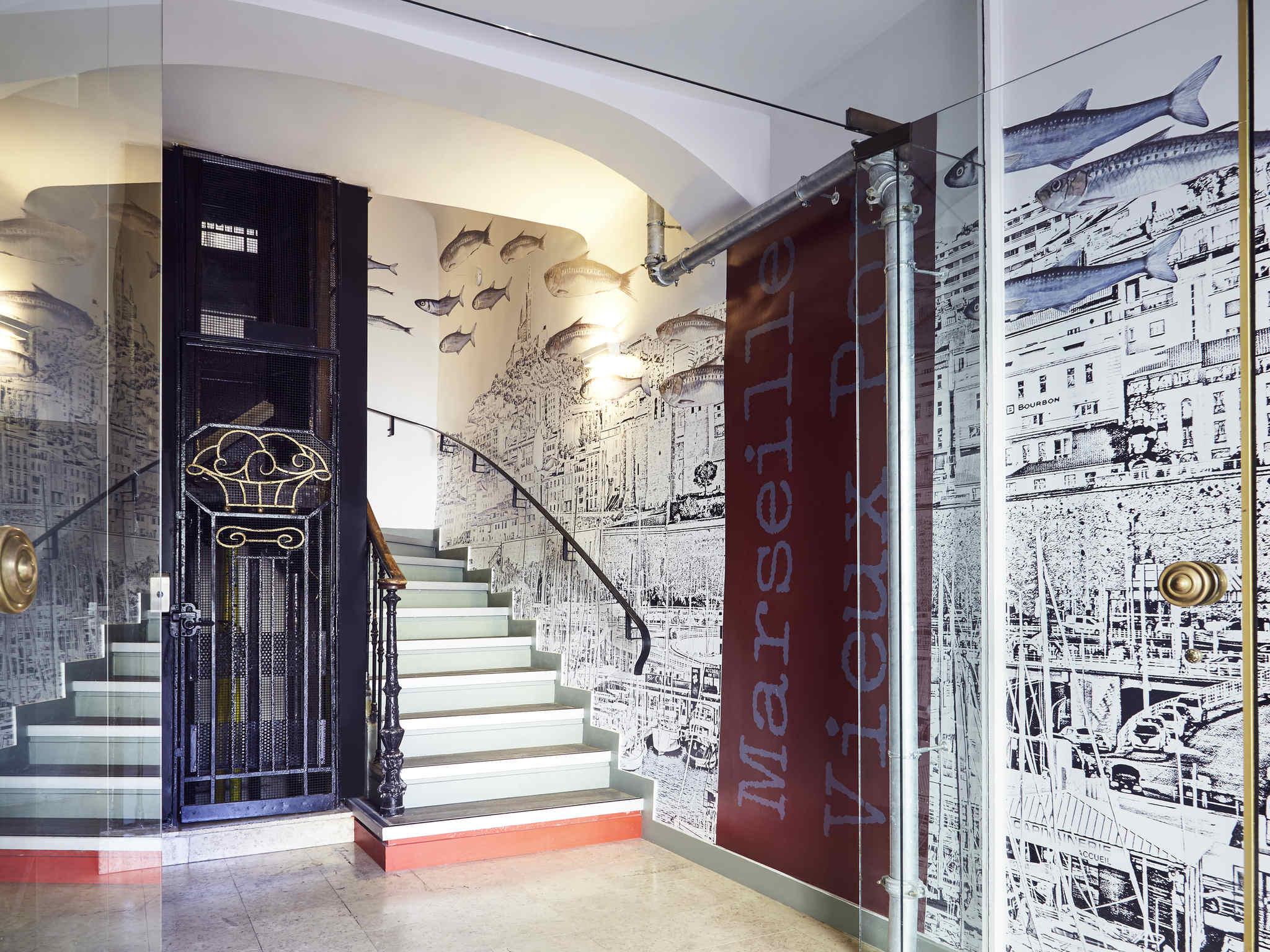 โรงแรม – ibis Styles Marseille Vieux-Port
