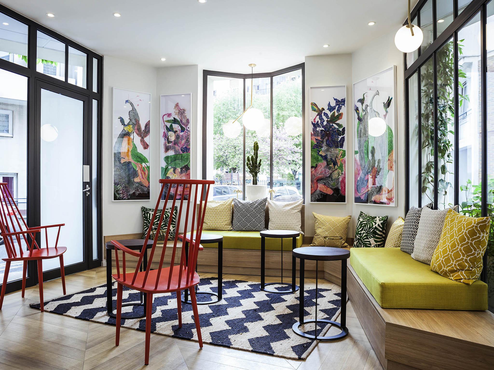 โรงแรม – ไอบิส สไตล์ ปารีส เนชั่น ปอร์ต เดอ มงเทรย