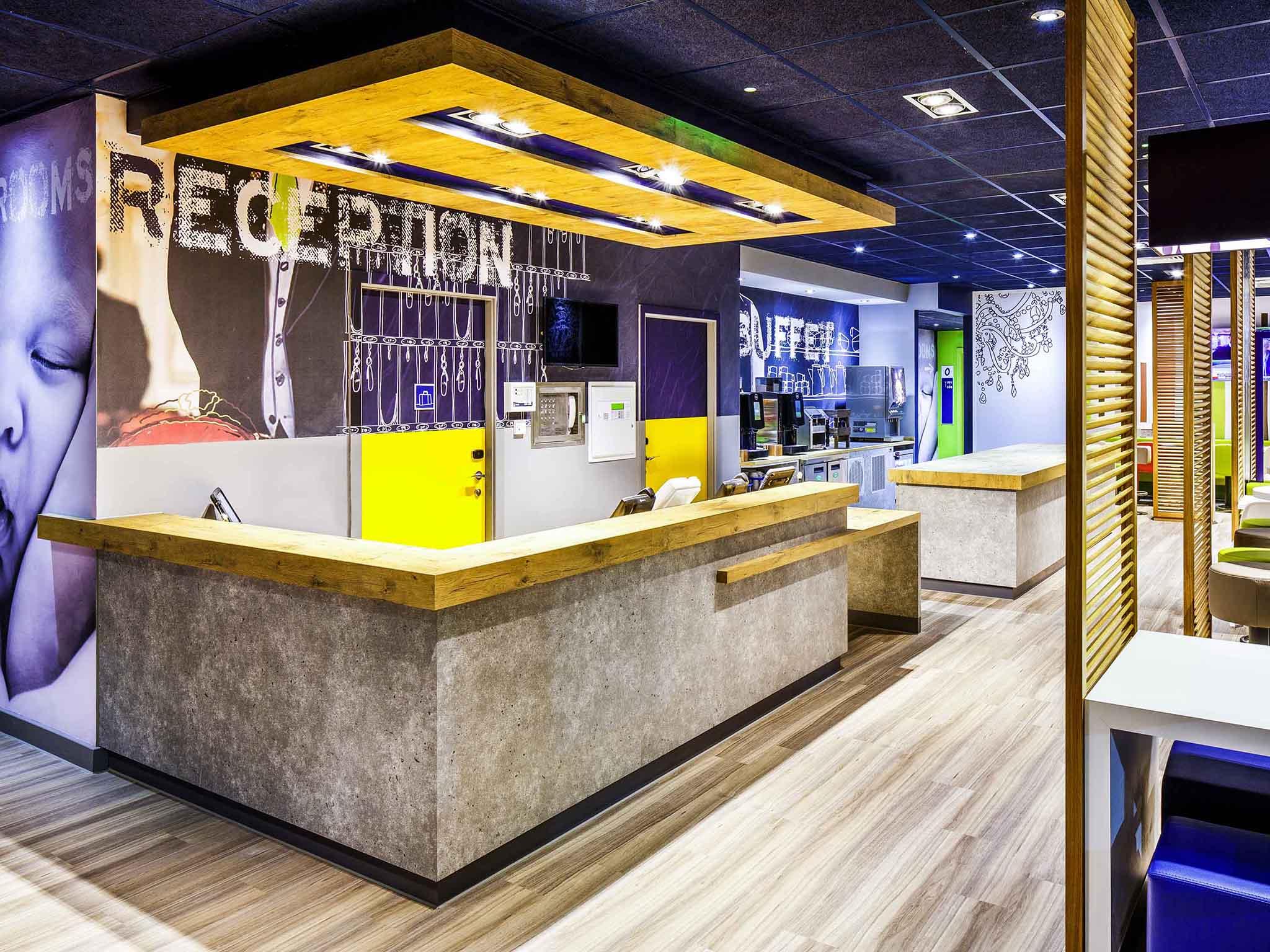 Отель — ibis budget Luton Airport