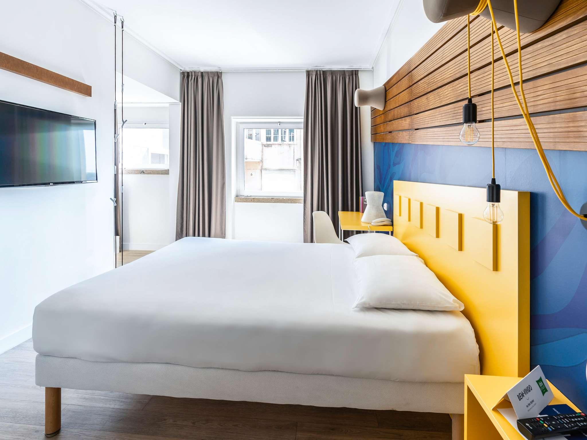ホテル – イビス スタイルズ リスボン エンバイシャドール