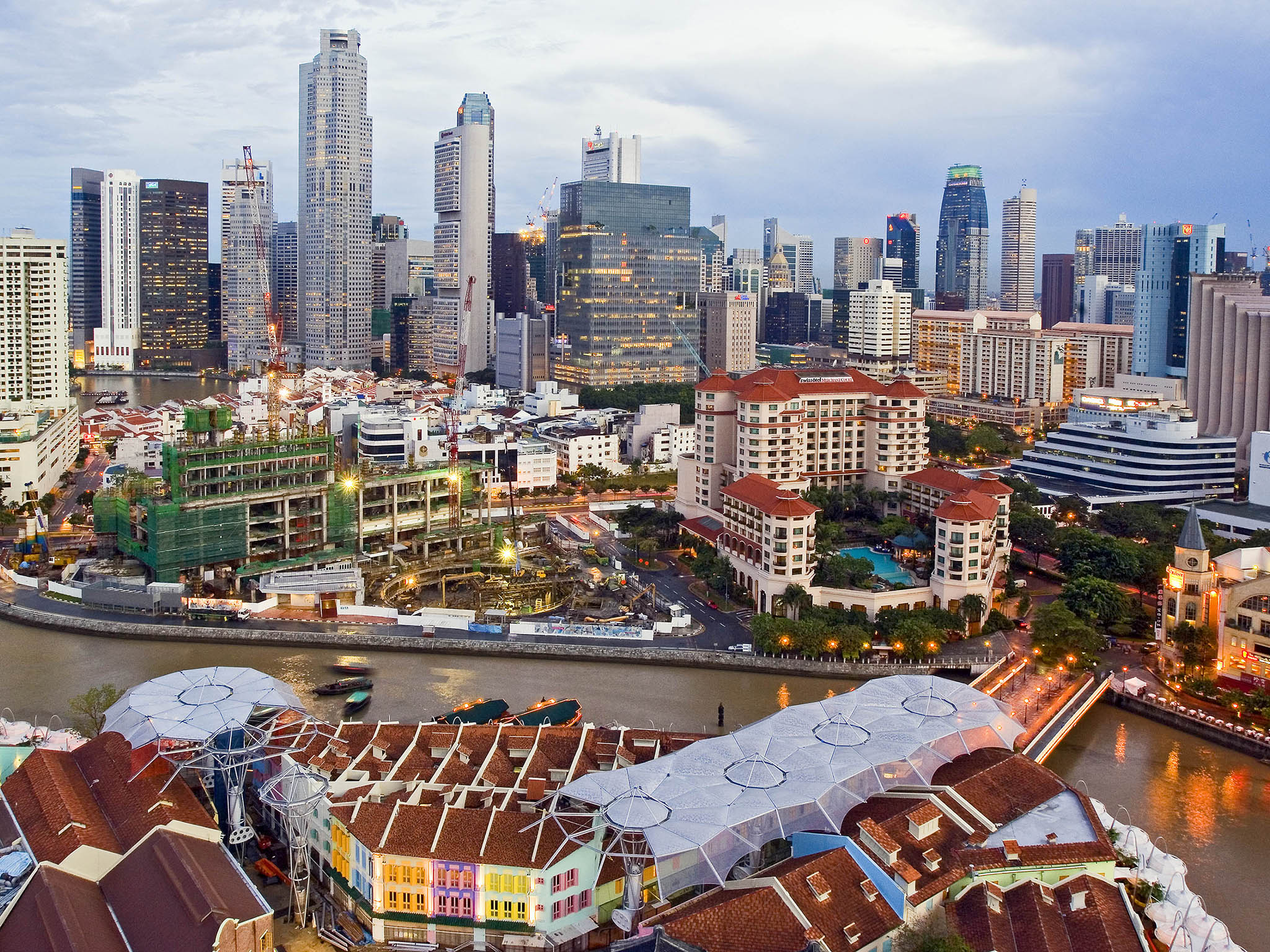 Image result for singapore centre area pic