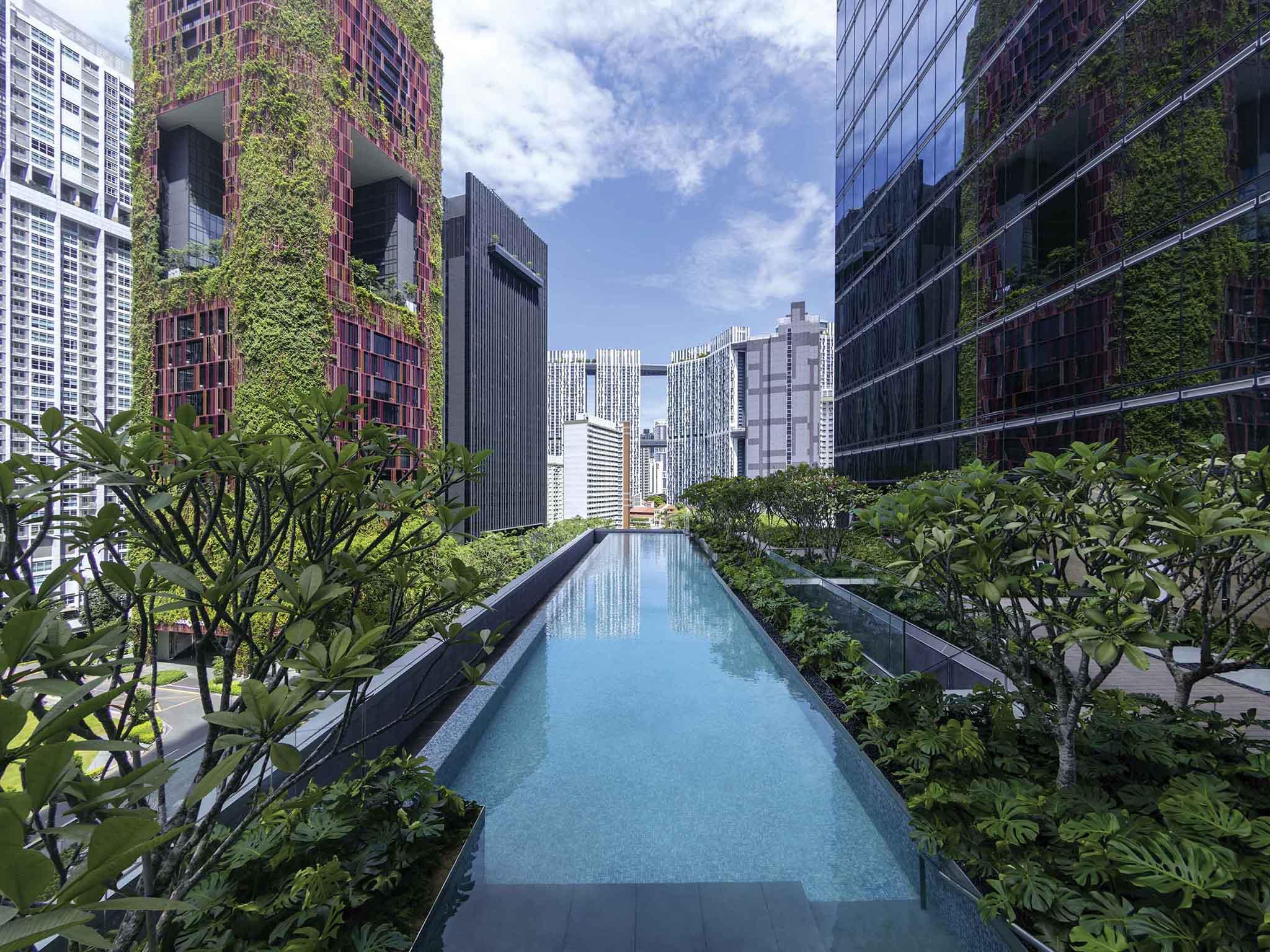 Отель — Sofitel Сингапур Сити Центр