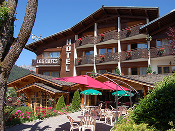 Hotel Les Cotes Residence Loisirs Et Chalets