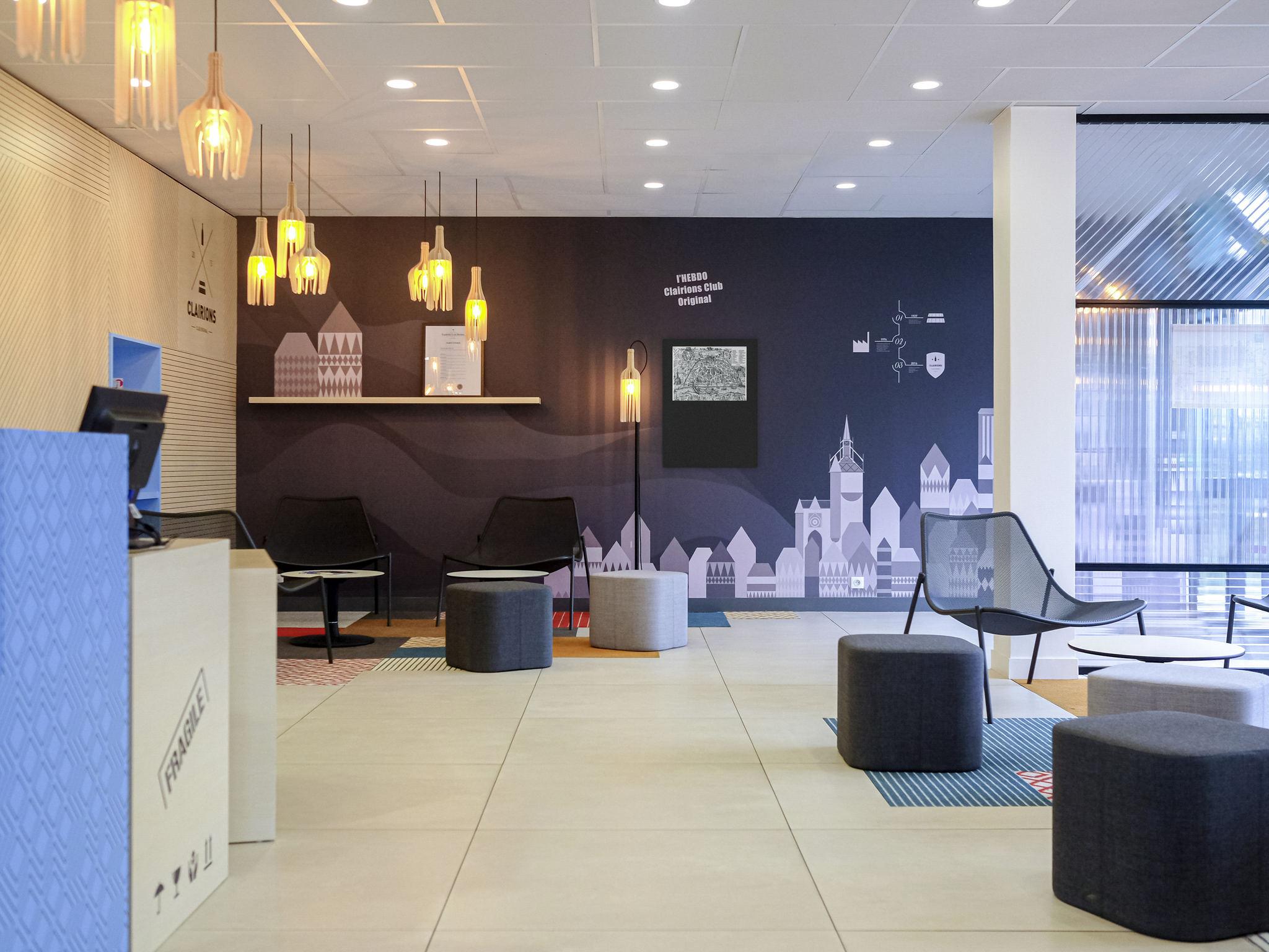 酒店 – ibis Styles Auxerre Nord