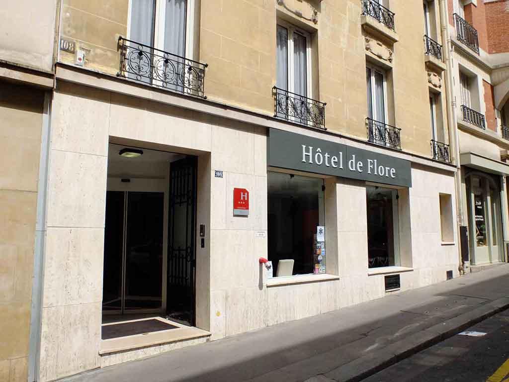 Hotel De Flore Rue Lamarck Paris