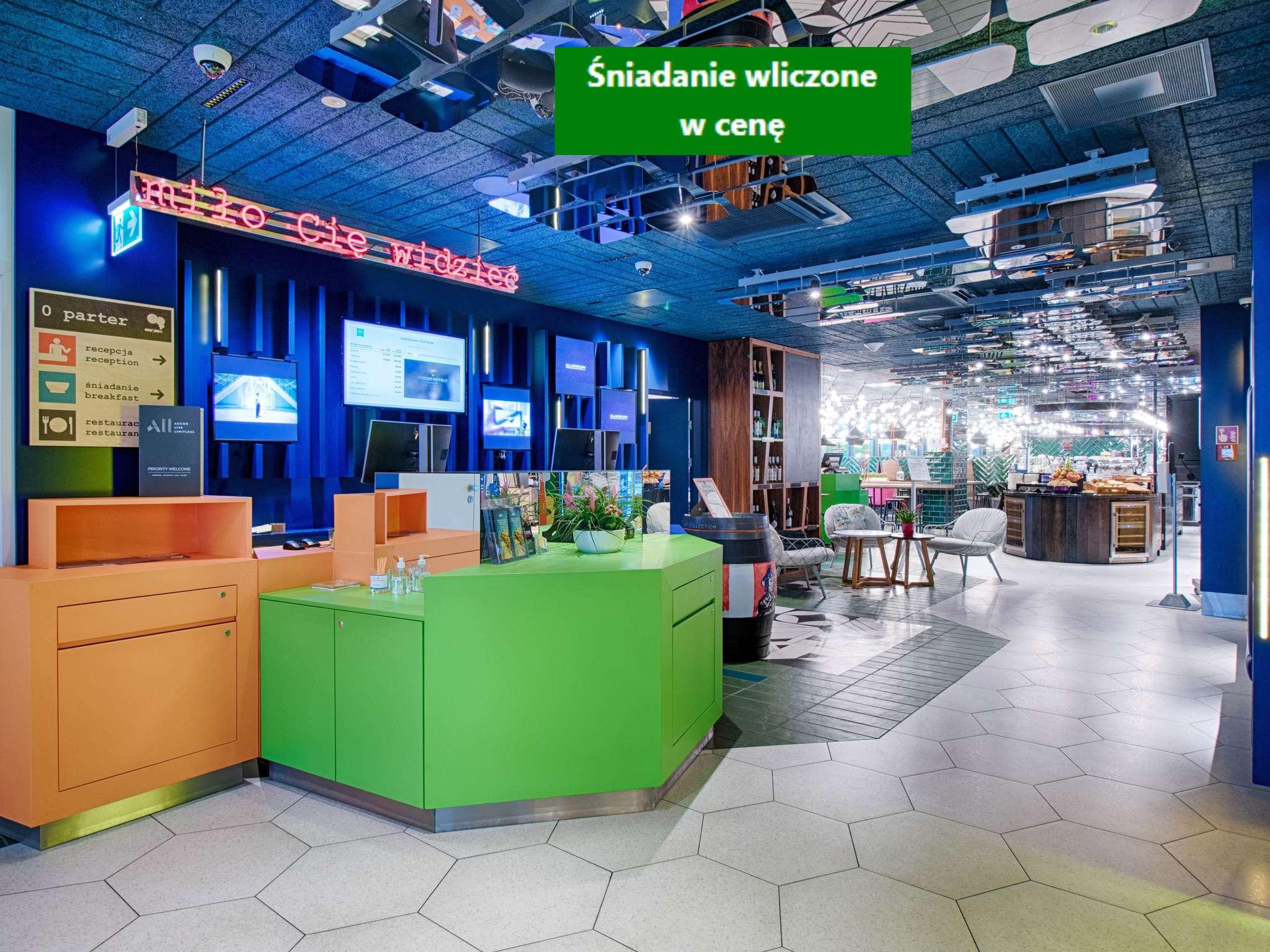Hotel – ibis Styles Warszawa Centrum (inauguração em novembro de 2018)
