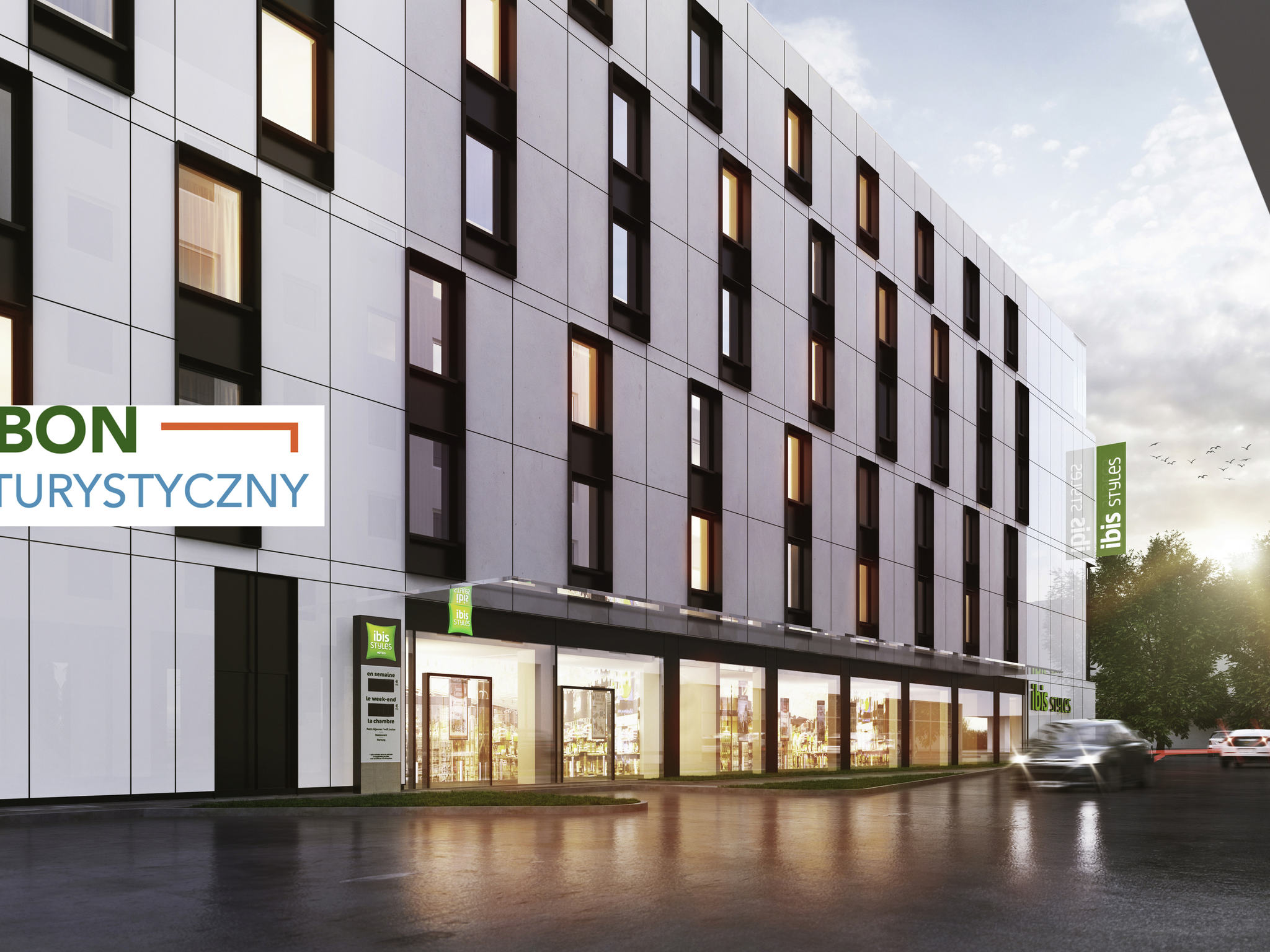 Hotel – Ibis Styles Warszawa Centrum (opening: november 2018)