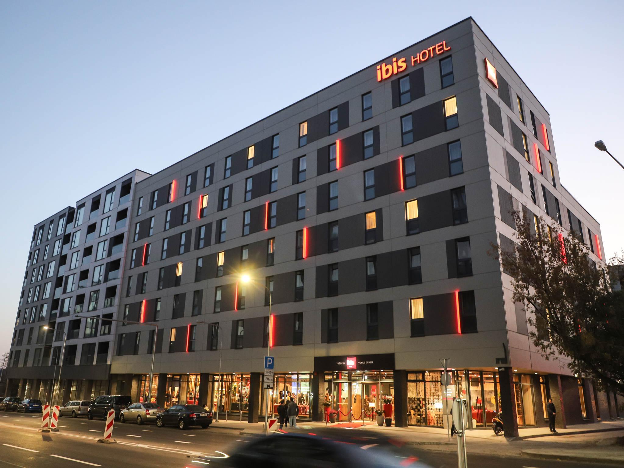 Отель — ibis Вильнюс Центр (открытие в августе 2018 г.)