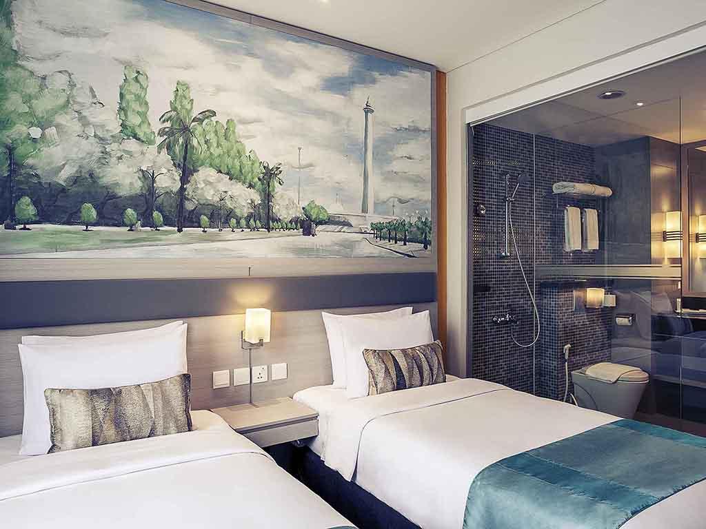 Hotel In Jakarta Mercure Cikini Kacang Sambal By Dua Putri Bjb Superior Room With 2 Single Beds