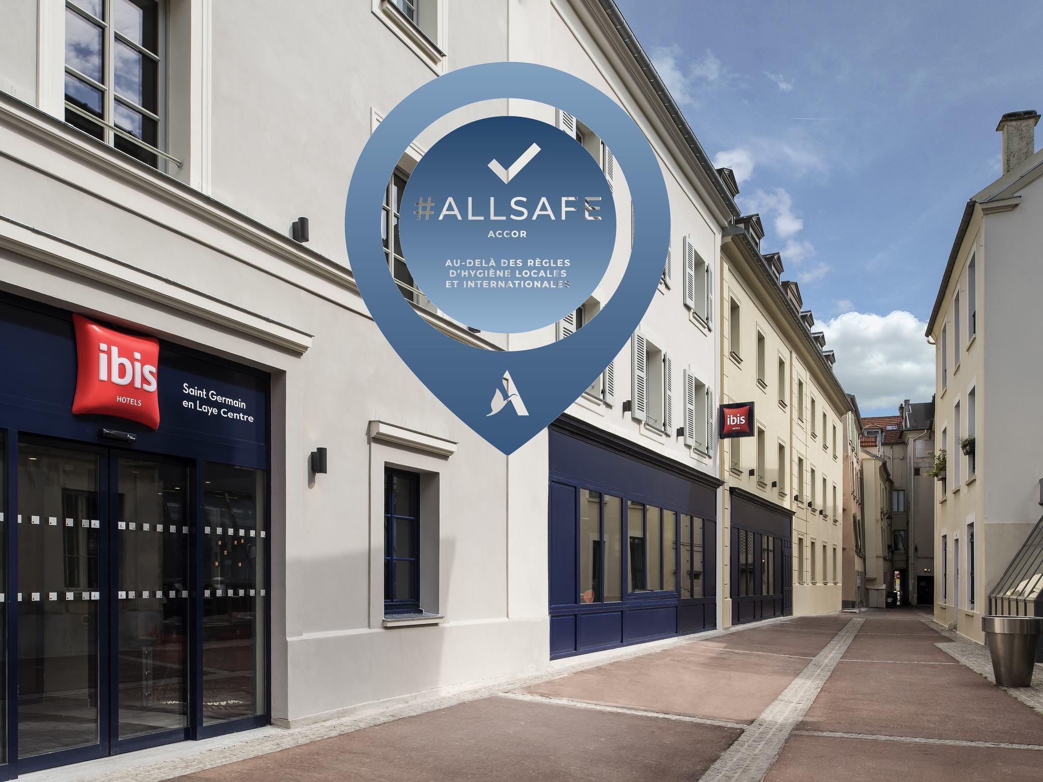 Otel – ibis Saint-Germain-en-Laye Centre