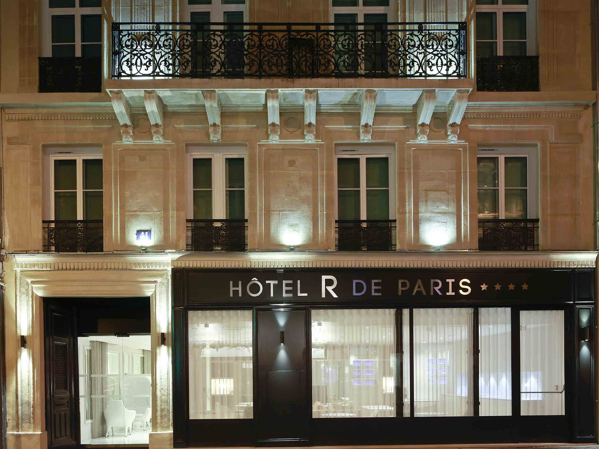 Hotel in paris hotel r de paris for Hotel paris x