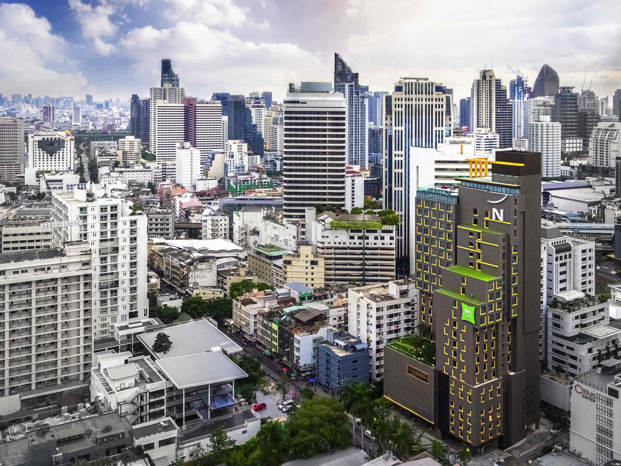 Hotel – ibis Styles Bangkok Sukhumvit 4 (abre em outubro de 2018)