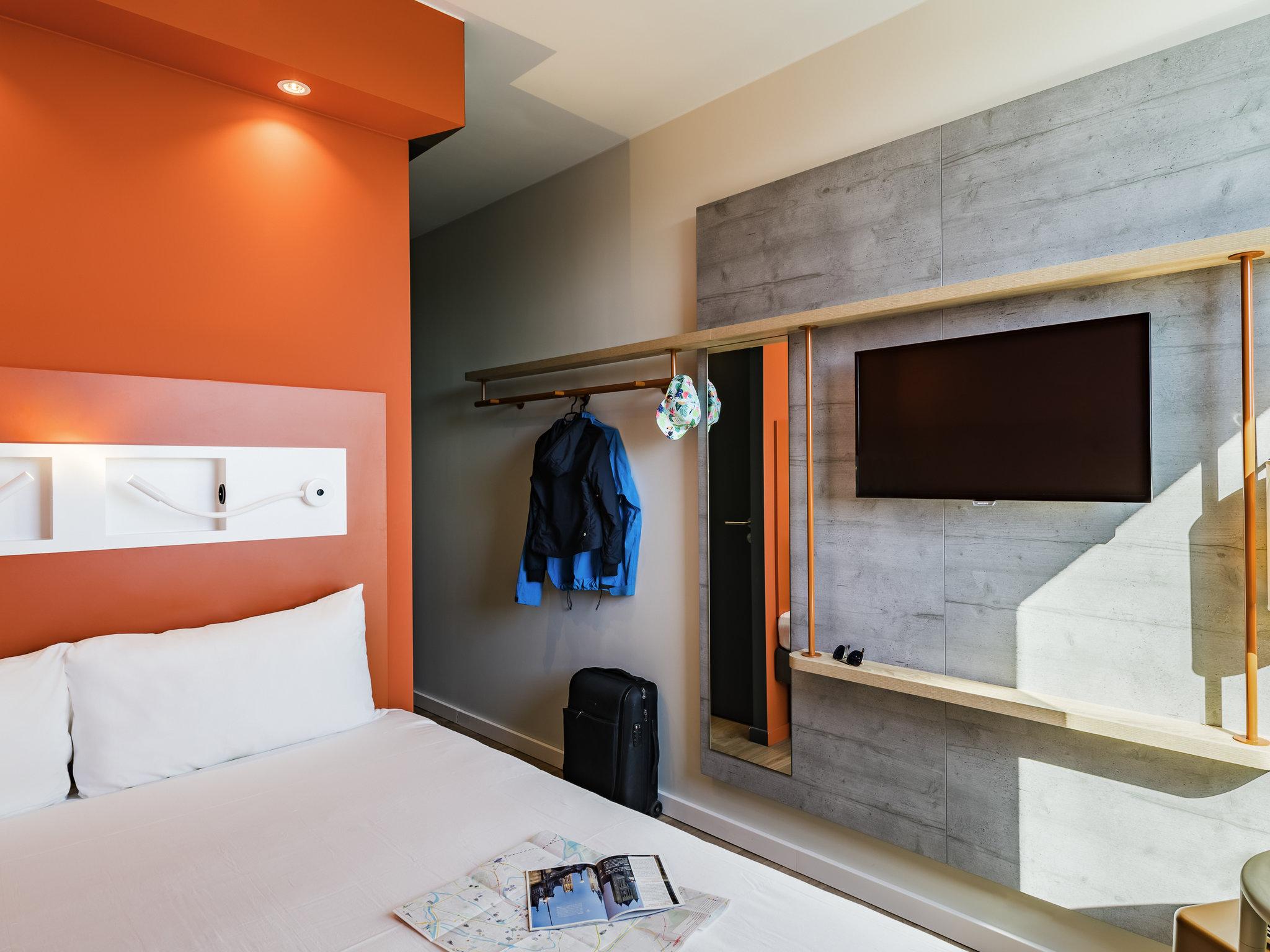 Hotell – ibis budget Gent Centrum Dampoort