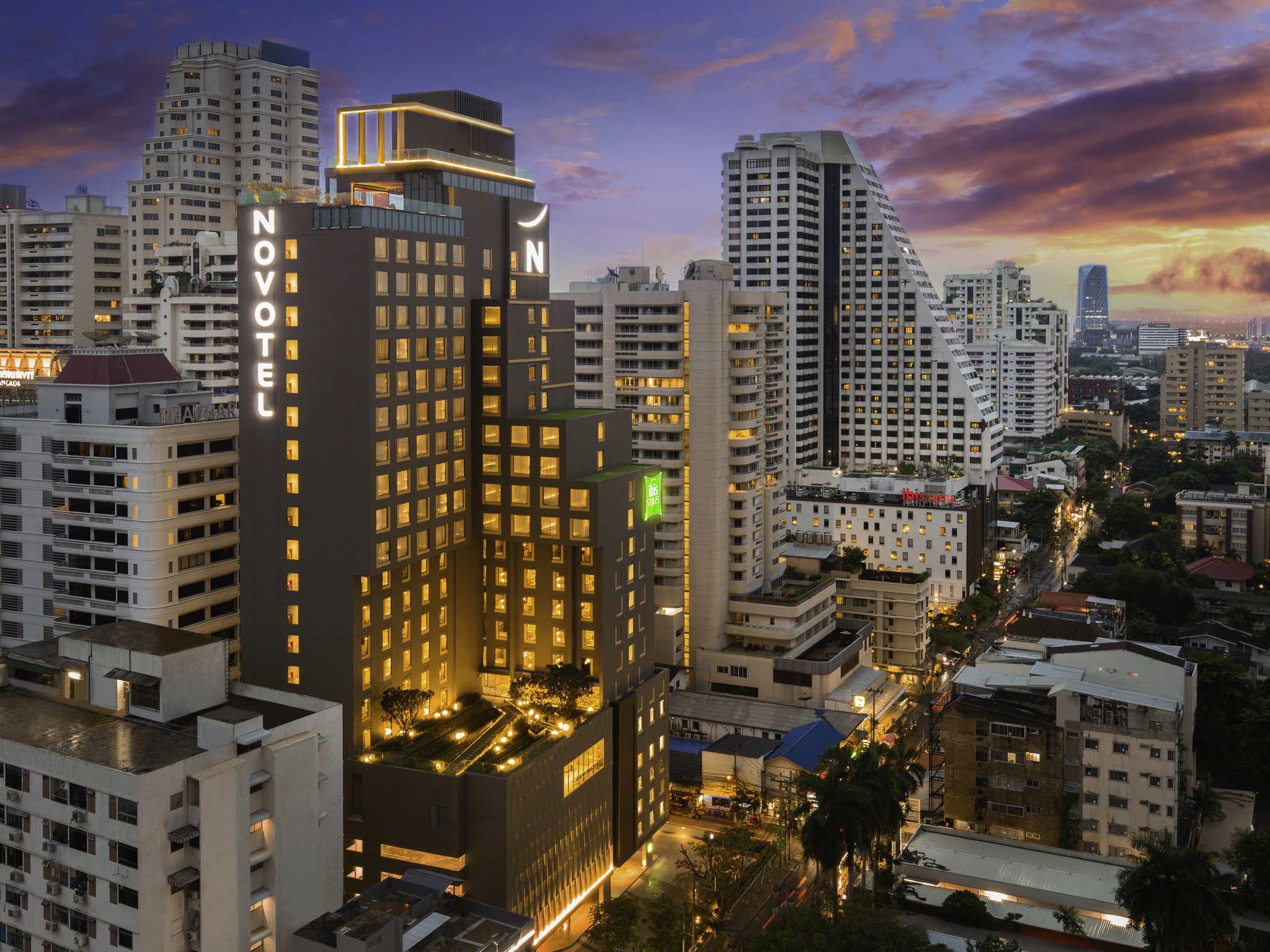 Hotel – Novotel Bangkok Sukhumvit 4 (inauguração em outubro de 2018)