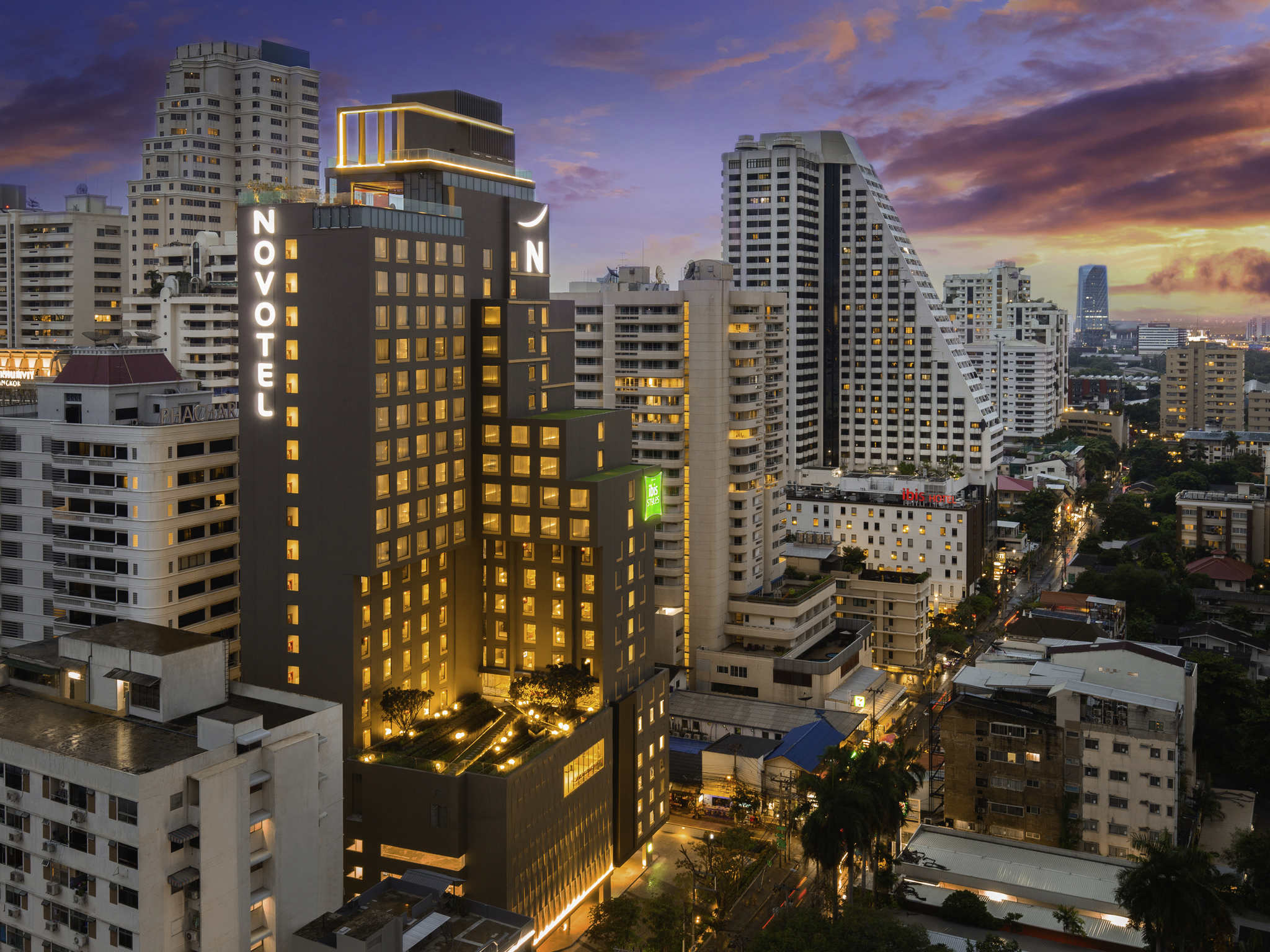 Hotel – Novotel Bangkok Sukhumvit 4 (opening: oktober 2018)