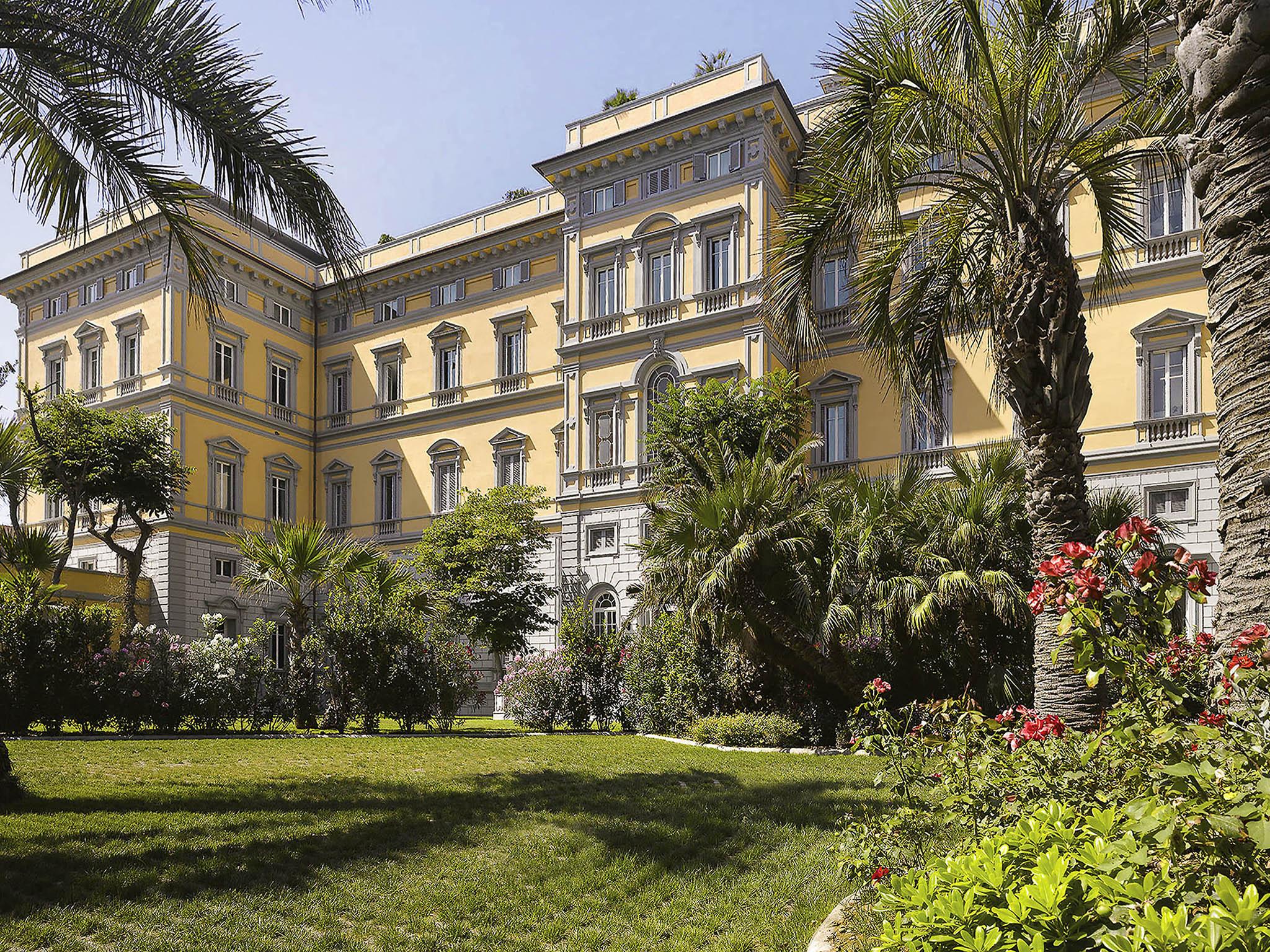 Отель — Grand Hotel Palazzo Livorno - MGallery by Sofitel