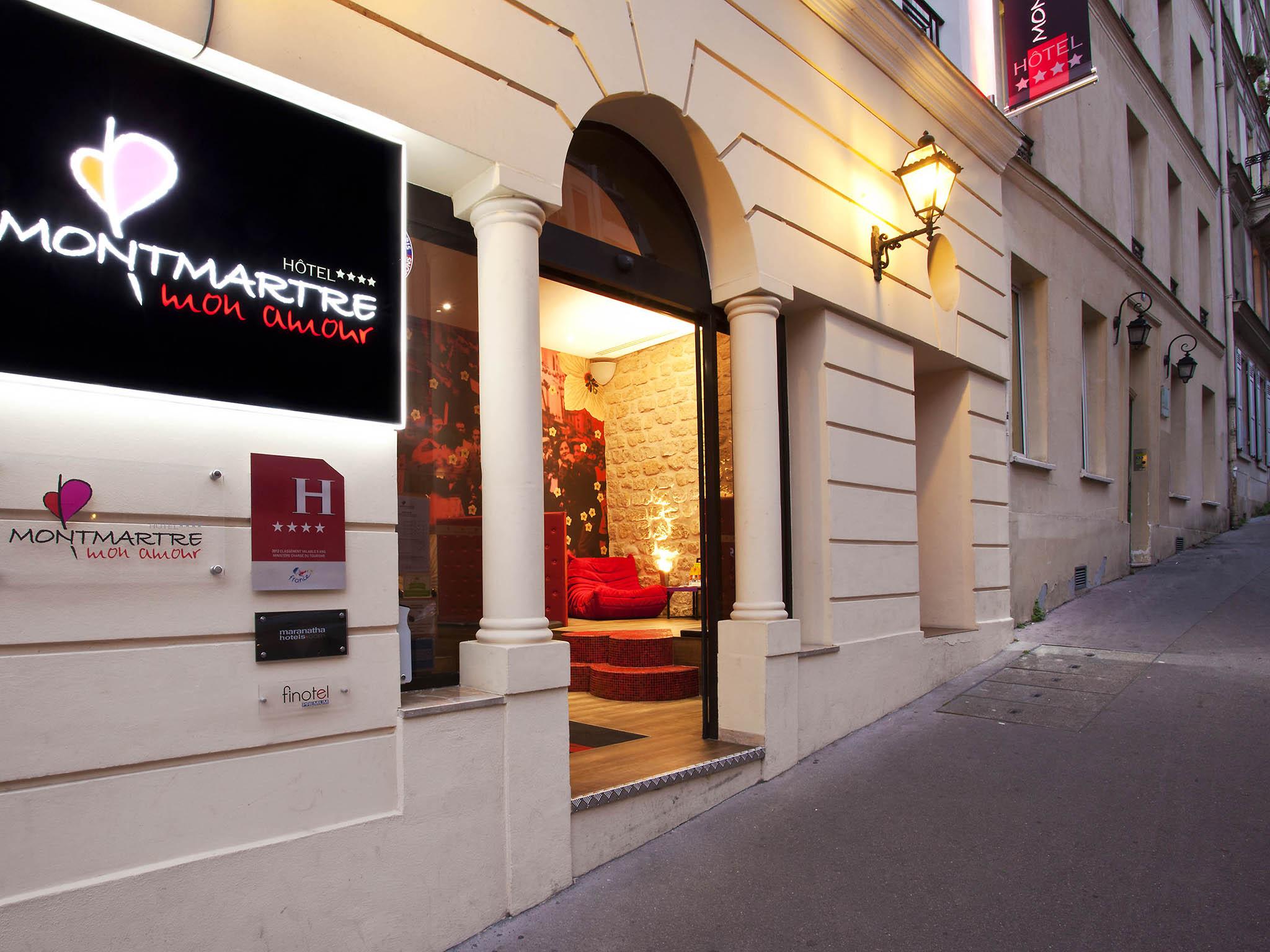Extrêmement Hotel in PARIS - Hotel Montmartre Mon Amour CB94