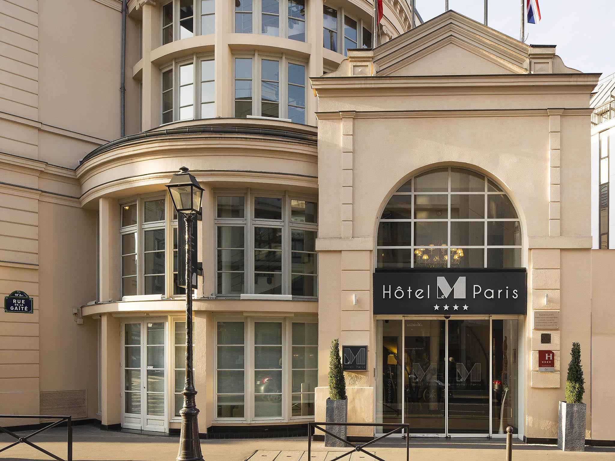 Hotel in paris h tel le m paris for Hotel im paris