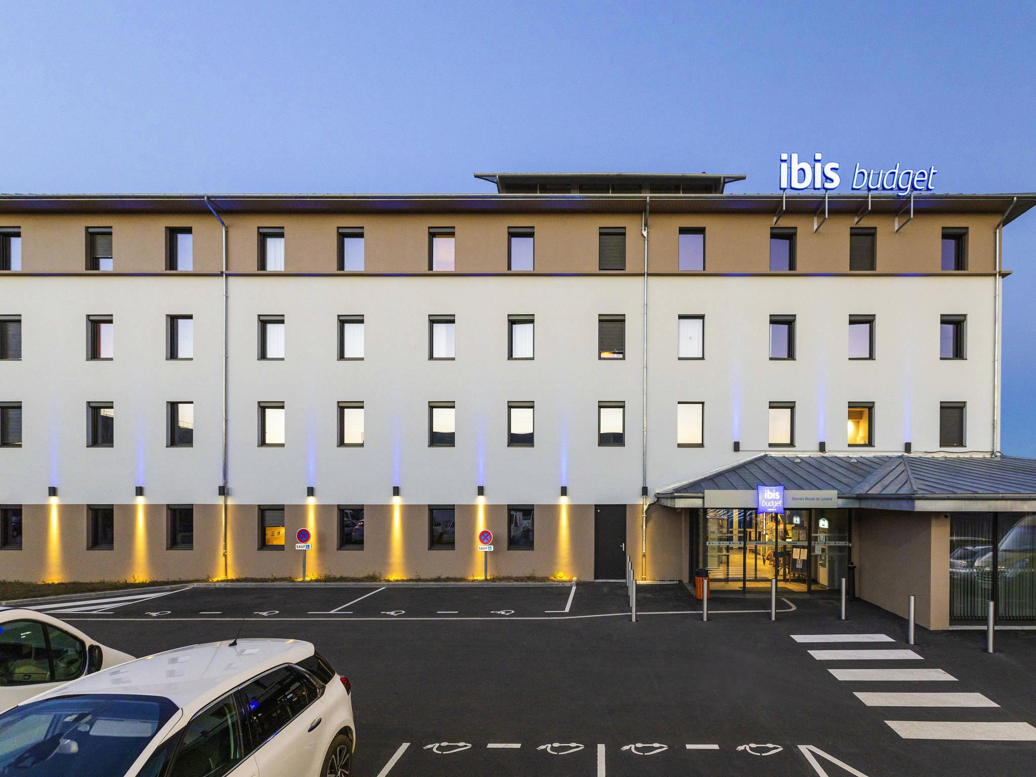 Hotell – ibis budget Rennes Route de Lorient
