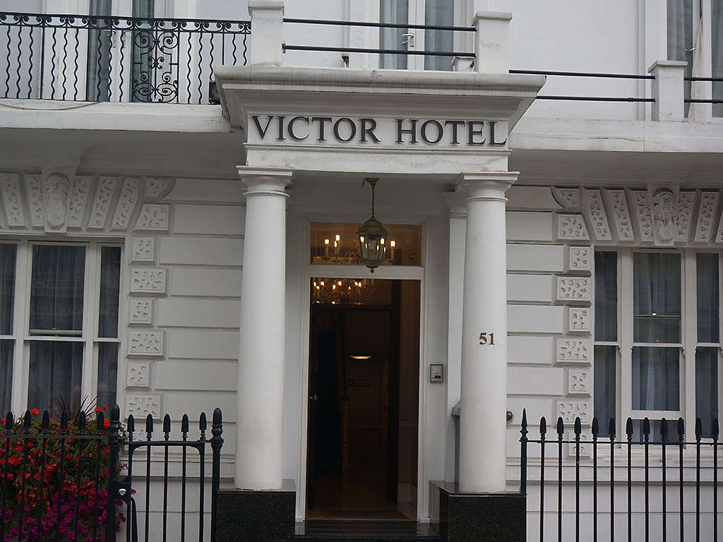 H tel londres victor hotel london victoria for Hotel adagio londres