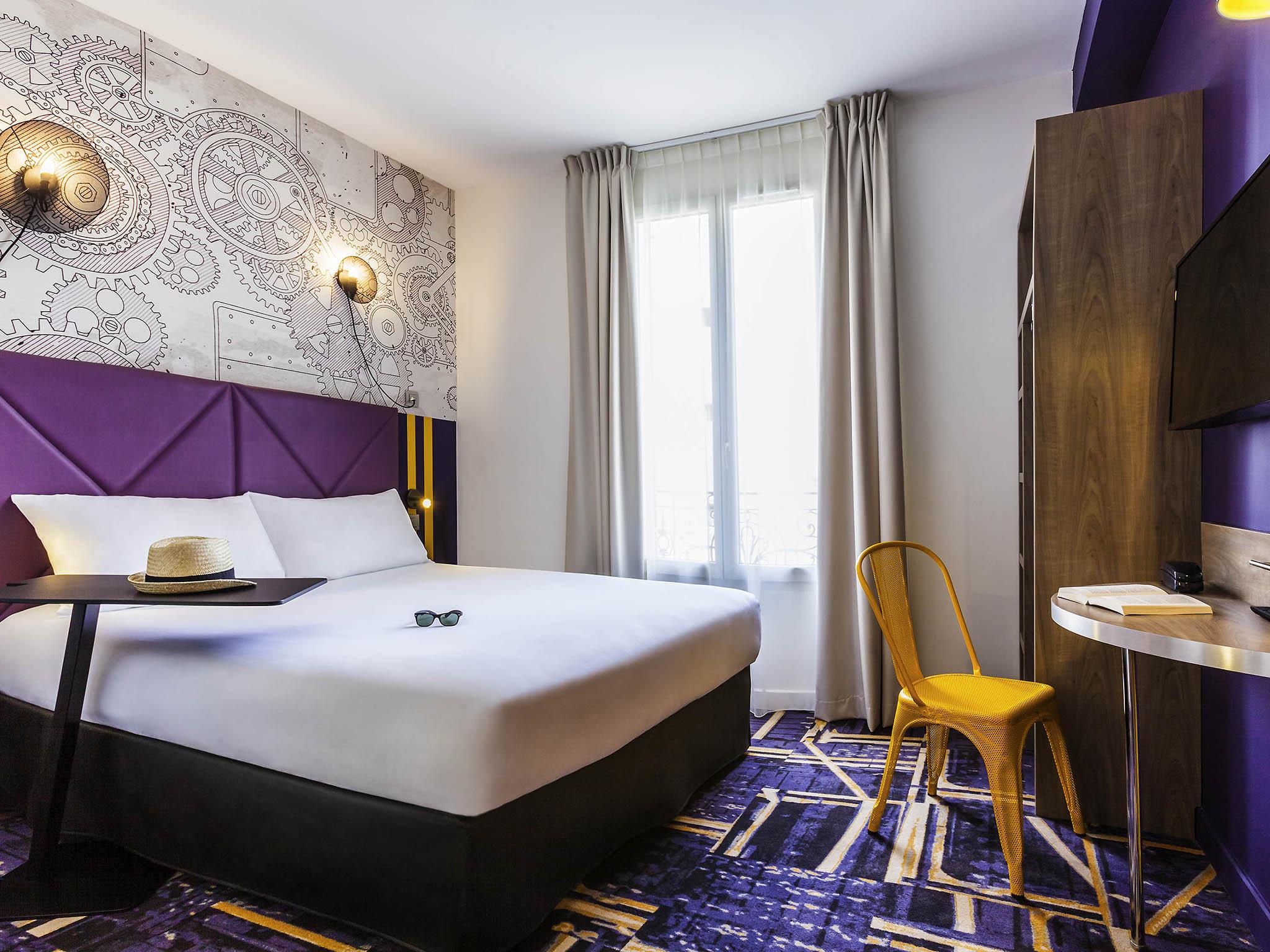 酒店 – 宜必思尚品巴黎克利希市政府酒店