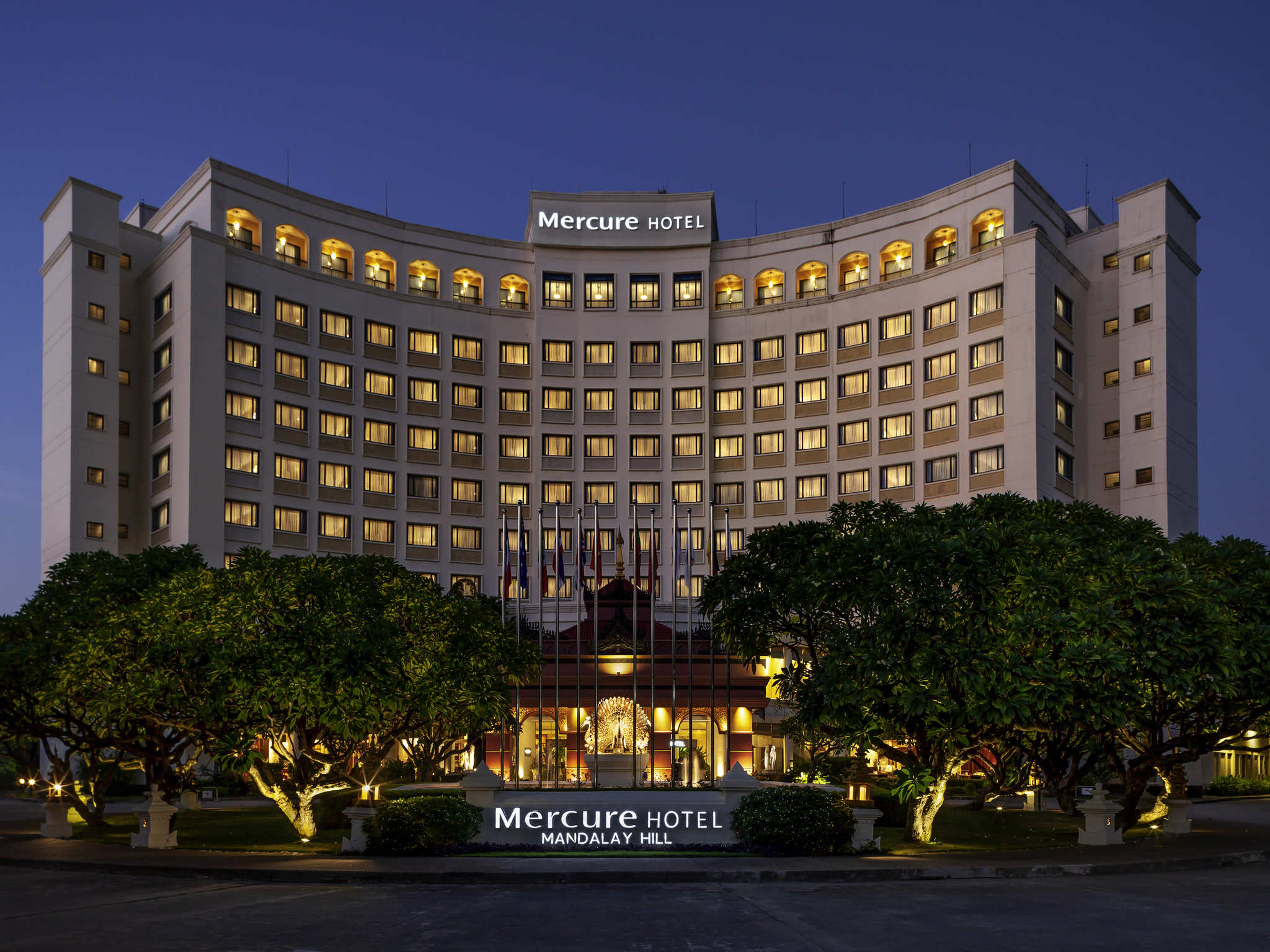 Hotell – Mercure Mandalay Hill Resort