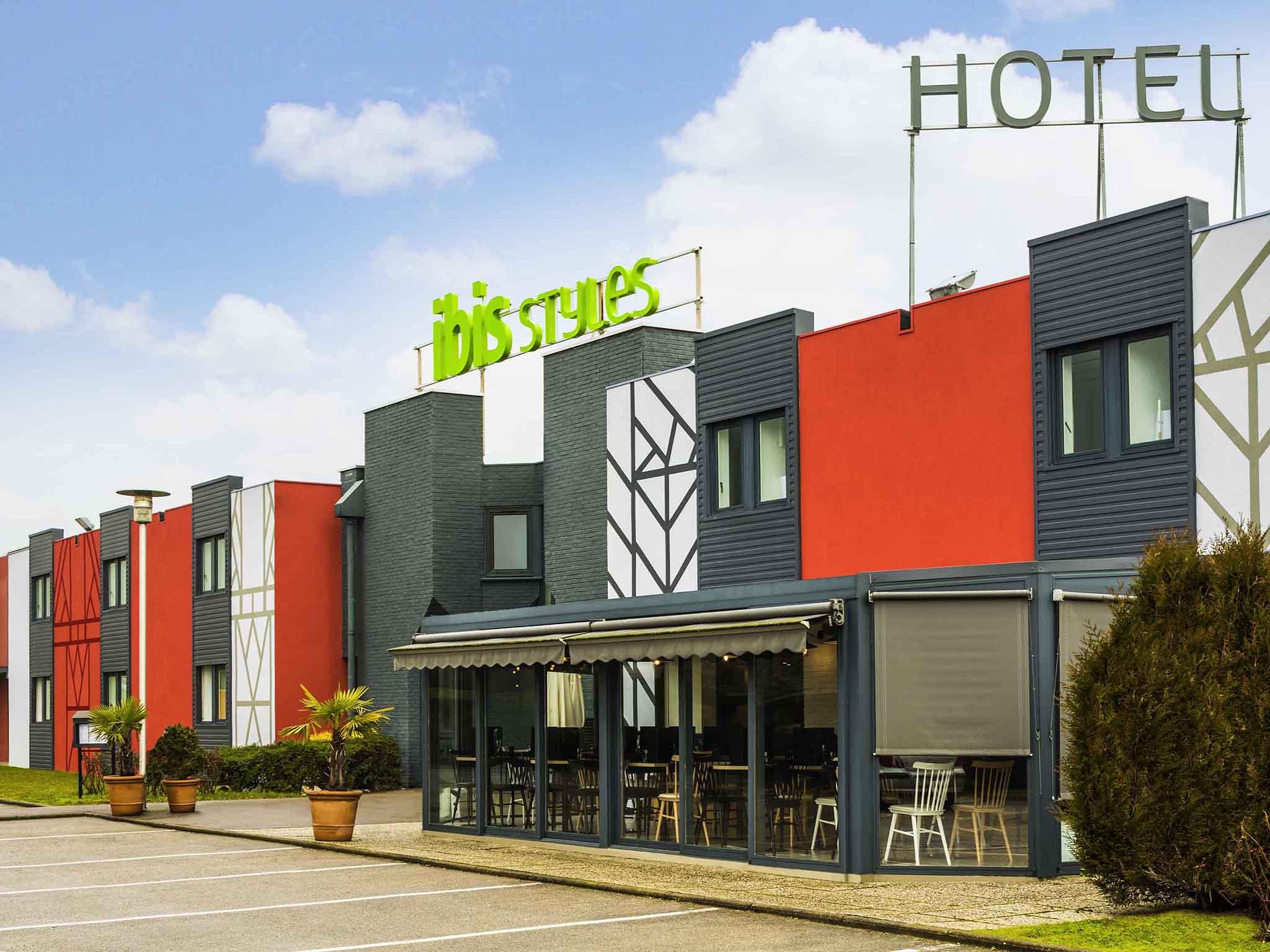 Отель — ibis Styles Rouen Val-de-Reuil