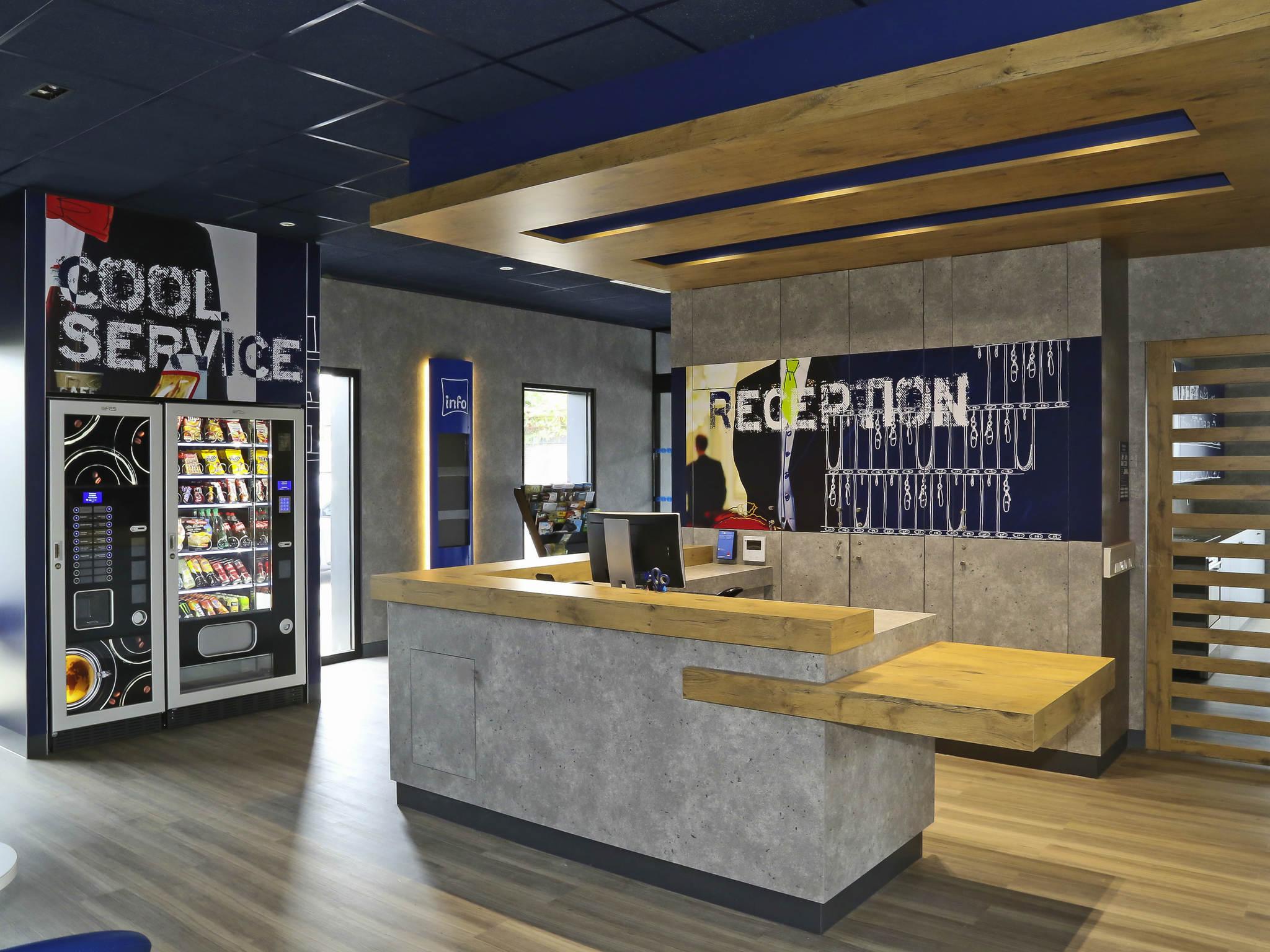 Hotell – ibis budget Amiens Centre Gare