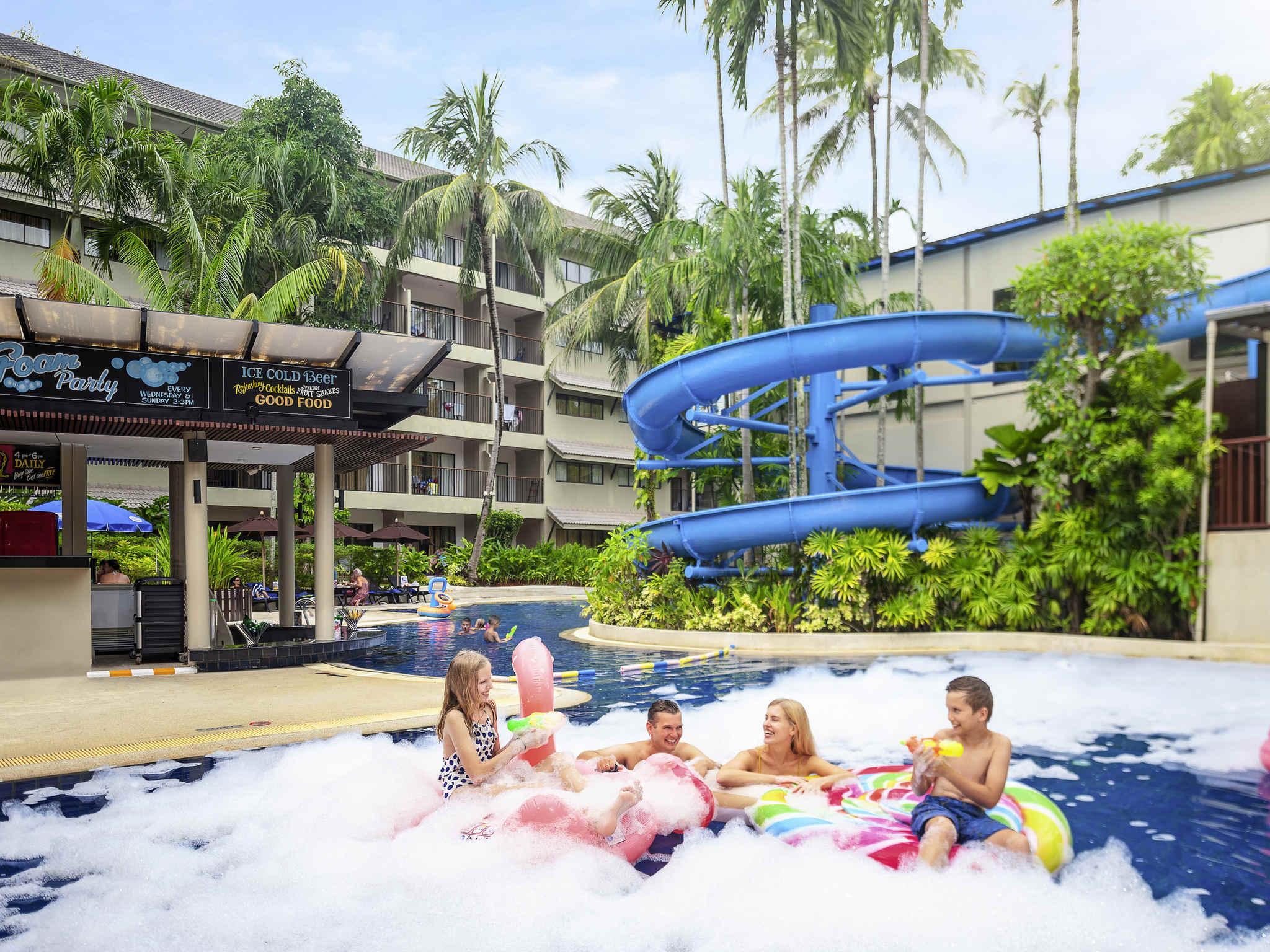 Otel – Novotel Phuket Surin Beach Resort