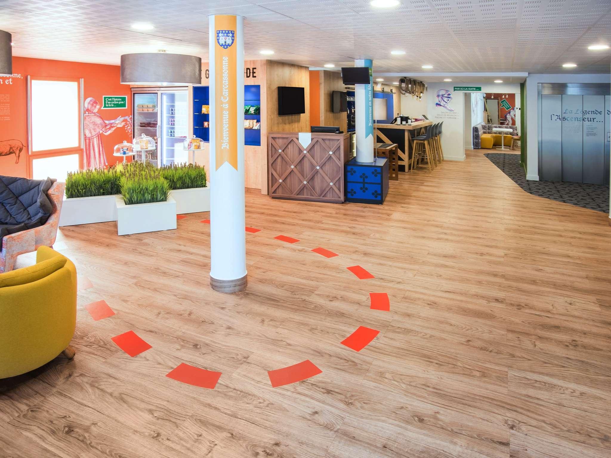 โรงแรม – ibis Styles Carcassonne La Cité