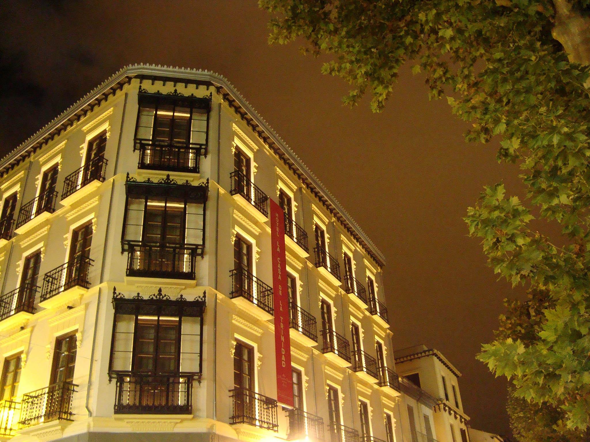 Hotel in granada casa de la trinidad for Casa de granada