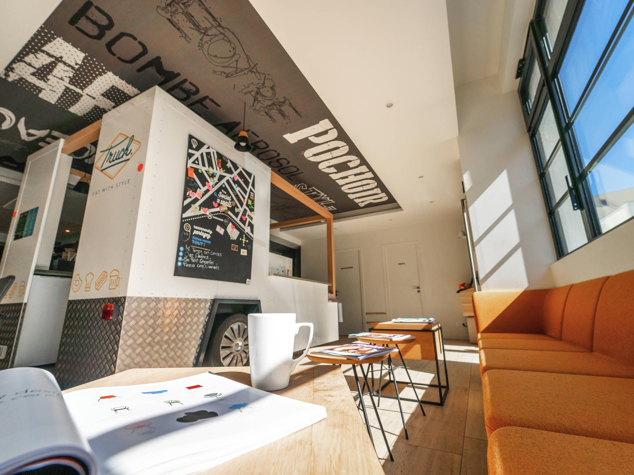 Hotel in paris ibis styles paris place d 39 italie butte for Hotels ibis france