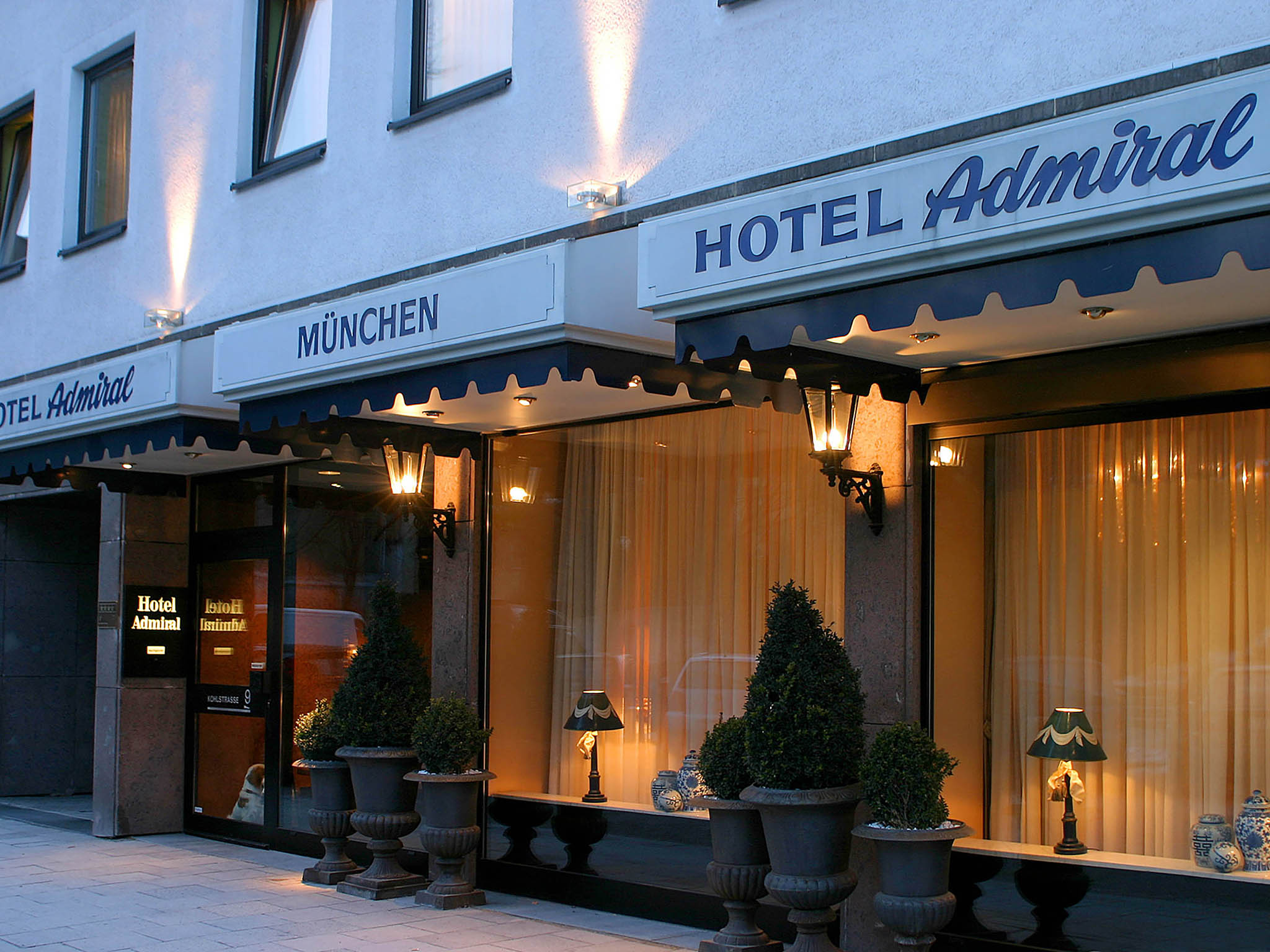 Hotel in munich hotel admiral munchen for Gunstige hotels in munchen