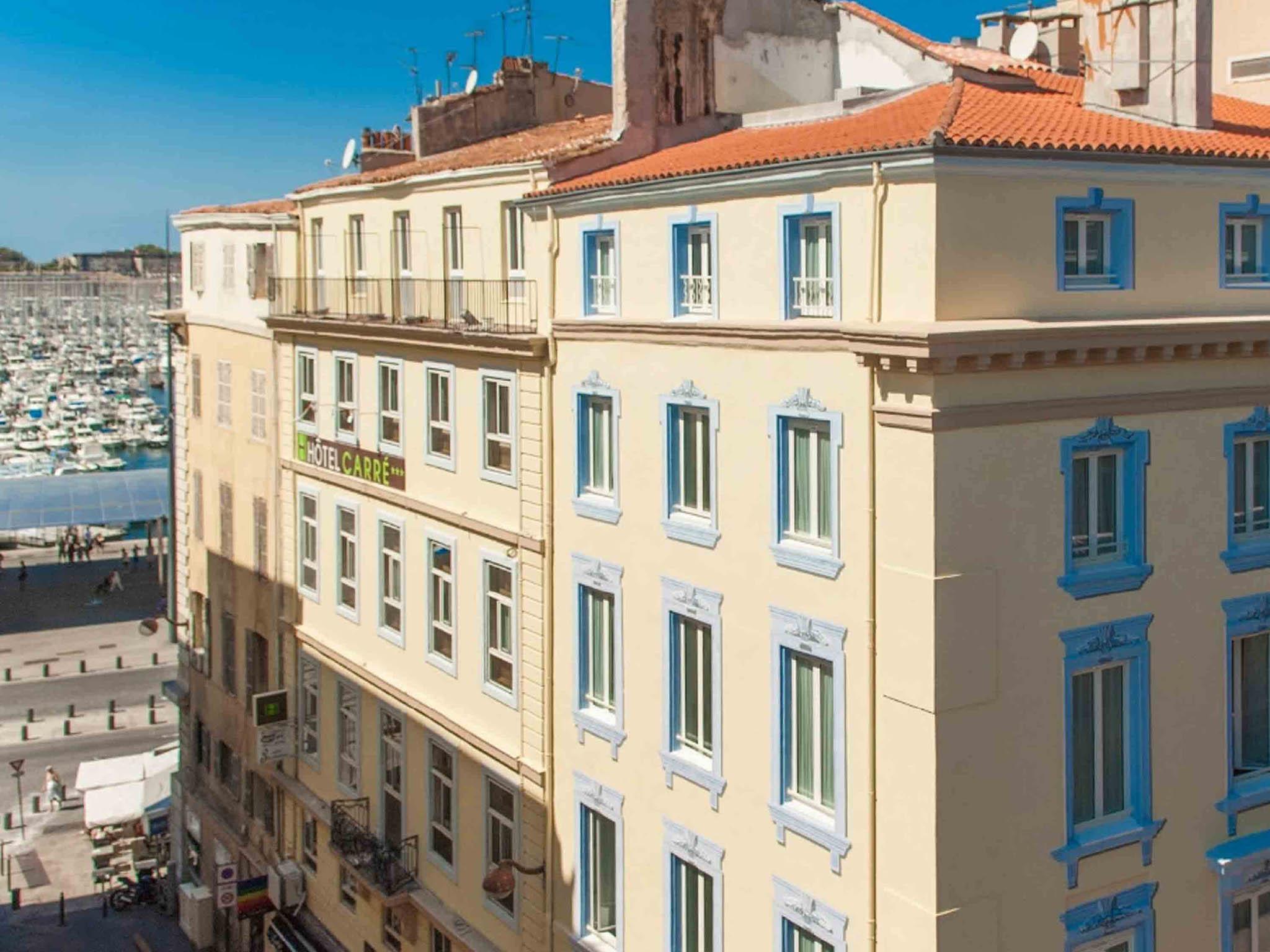 h 244 tel 224 marseille hotel carre vieux port marseille