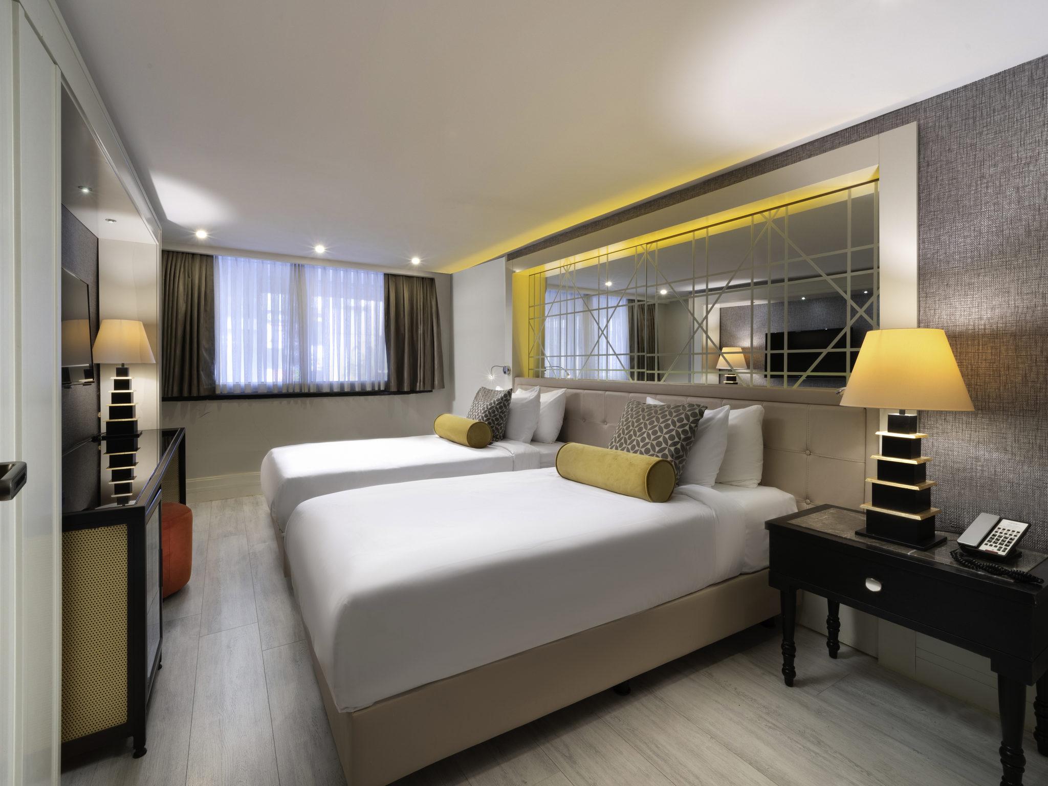 โรงแรม – Mercure Istanbul Bomonti
