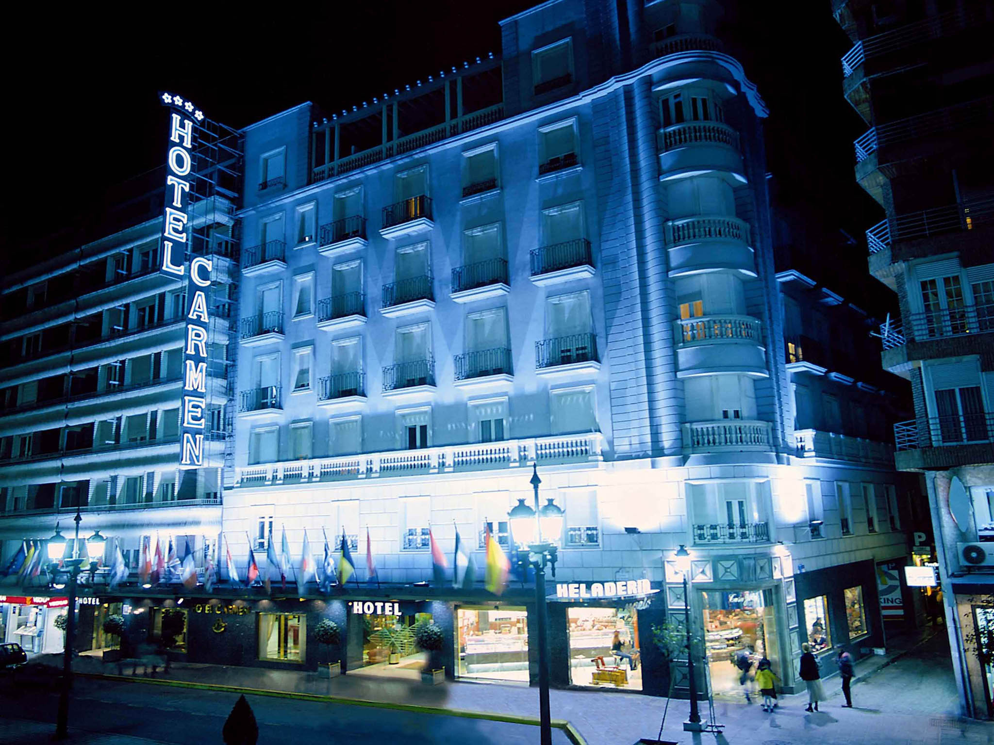 Hotel in granada hotel carmen for Best boutique hotels granada