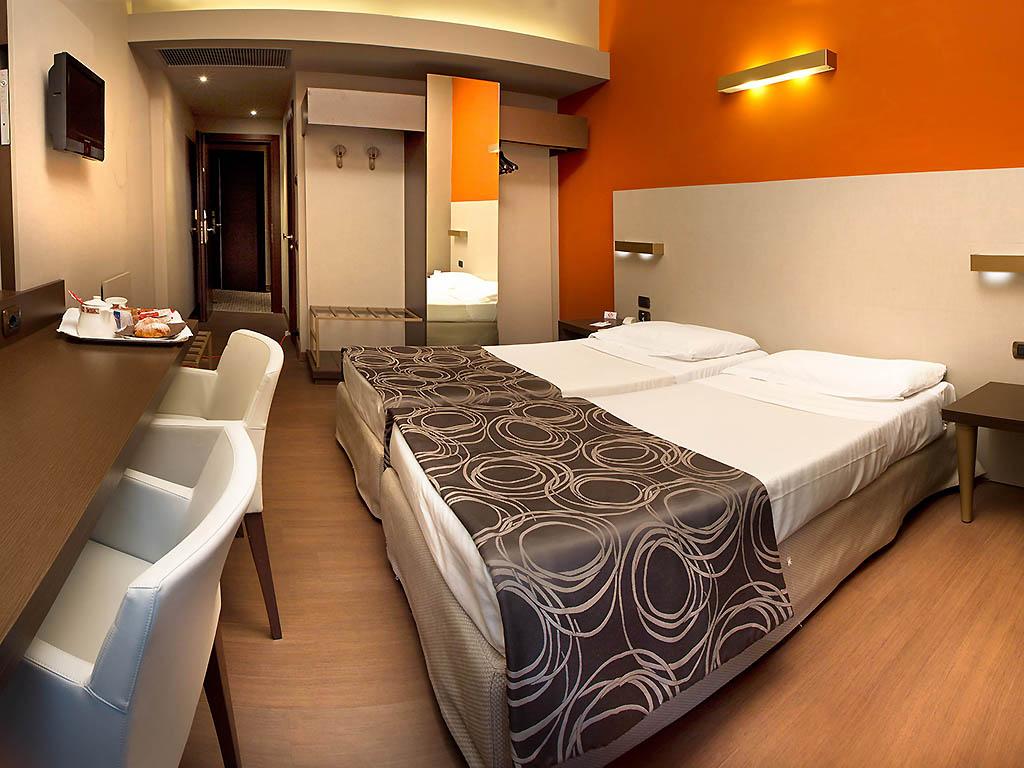 H tel milan hotel soperga - Chambre double standard ...