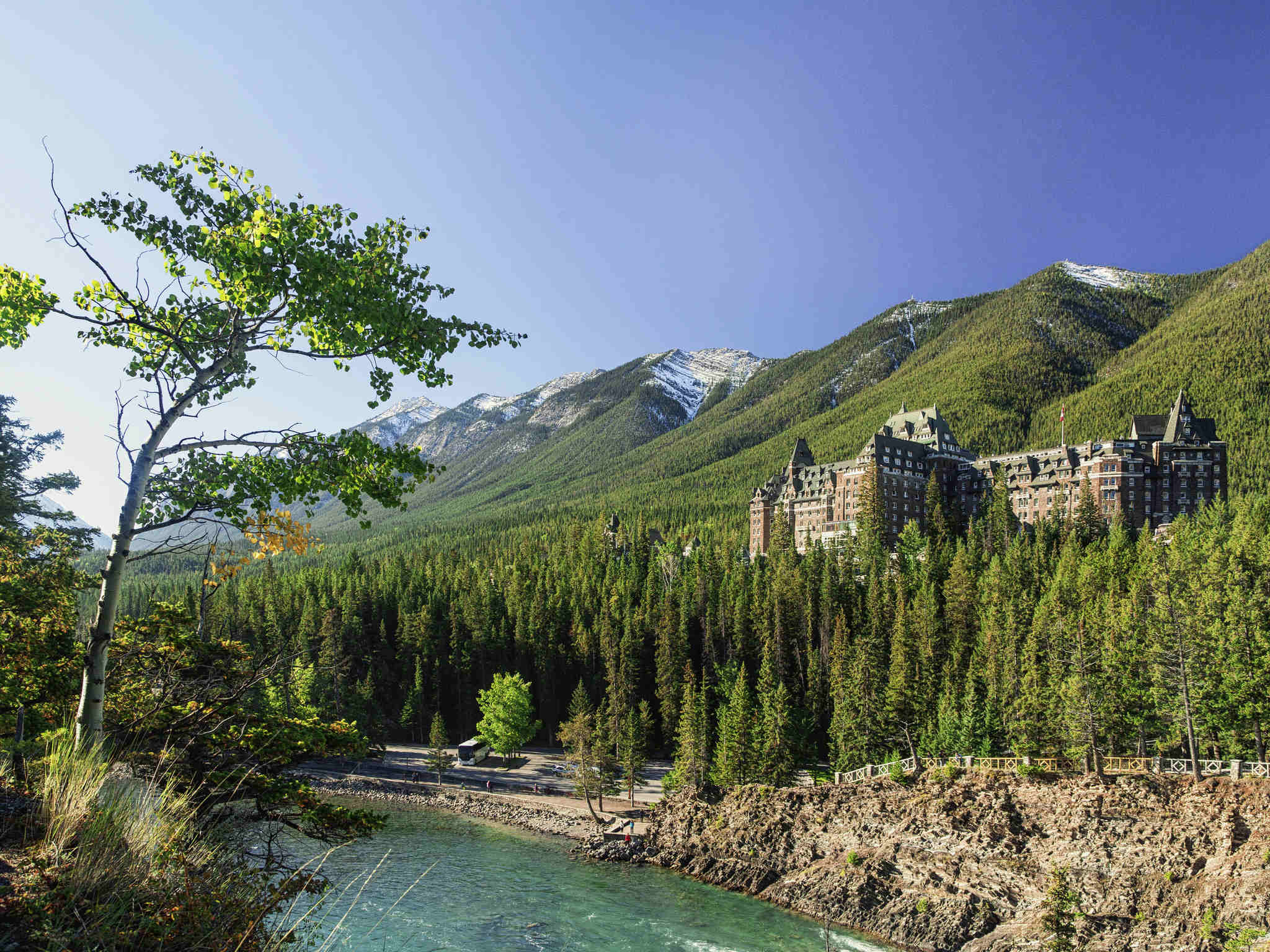 Hotell – Fairmont Banff Springs