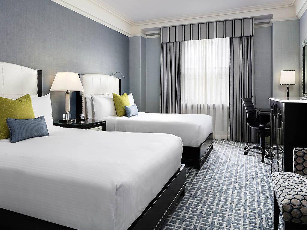 Fairmont Luxury Zimmer Mit Doppelbett