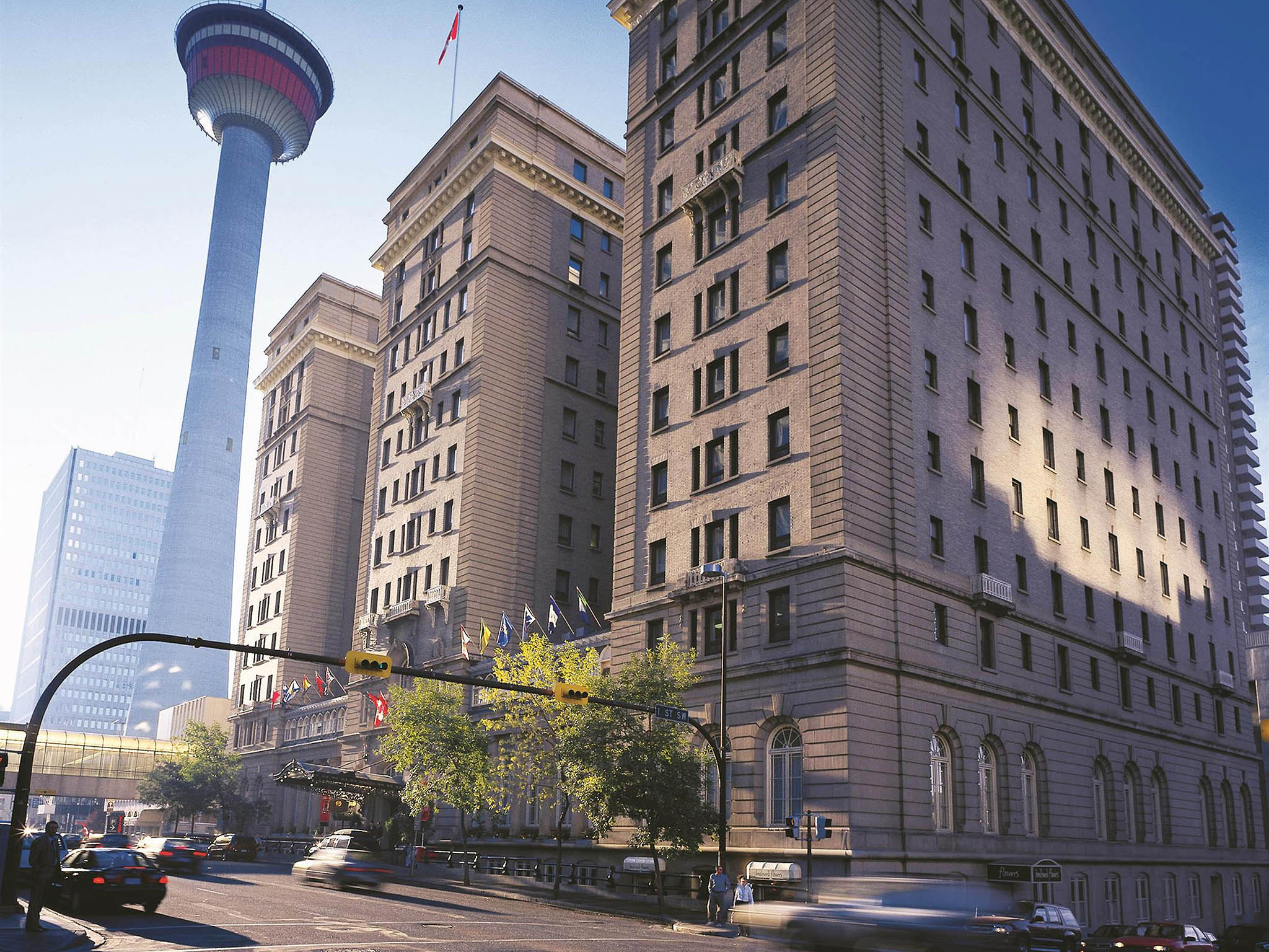 โรงแรม – Fairmont Palliser