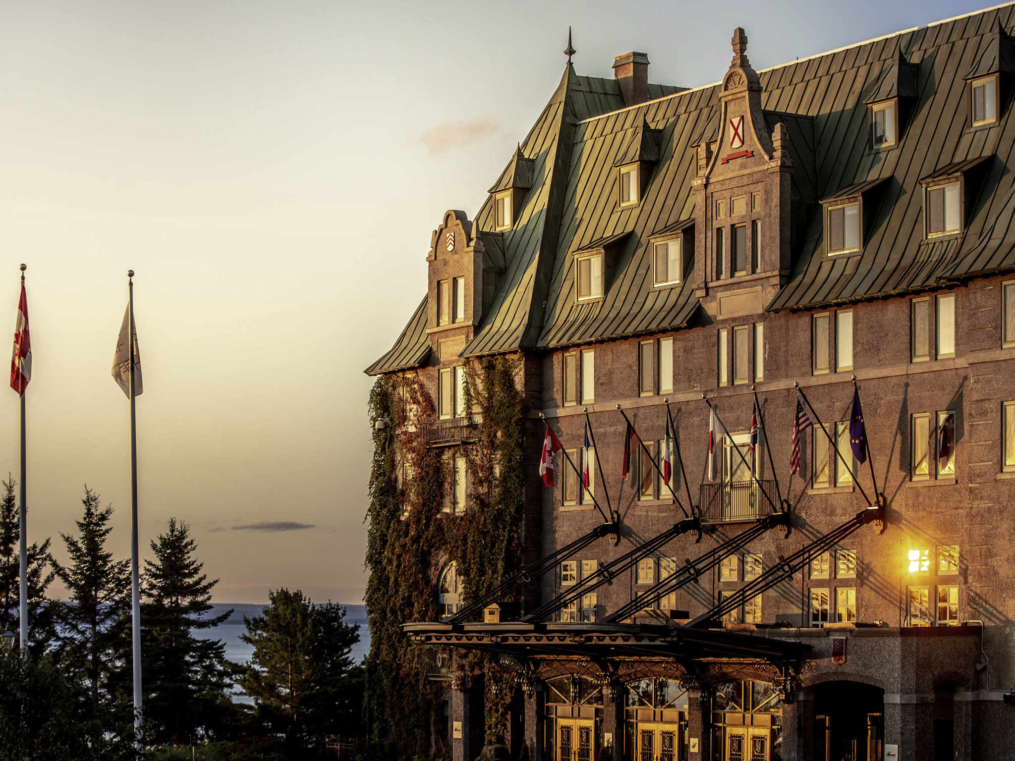 酒店 – Fairmont Le Manoir Richelieu 酒店